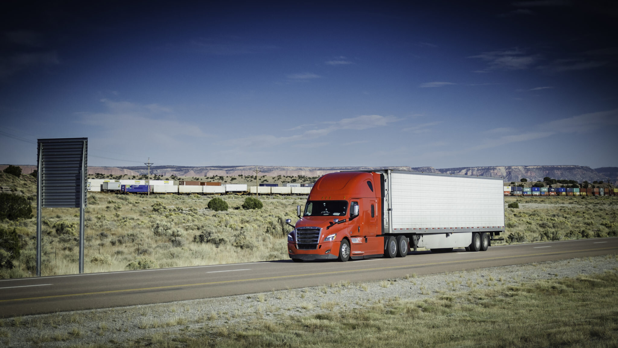 The Cass Freight Index recorded sequential improvement from May to June, but year-over-year declines remain large as truckload earnings season kicks off. (Photo: Jim Allen/FreightWaves)