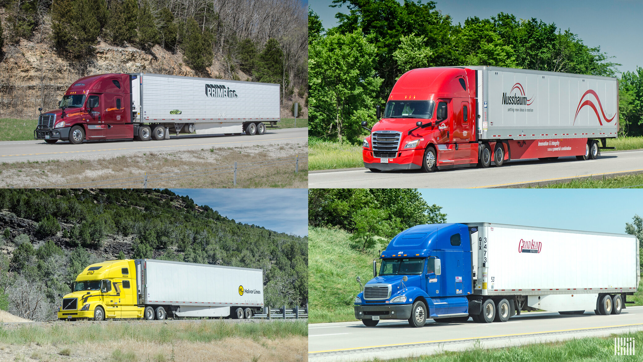 Sixteen repeat fleets have been named to the TCA and CarriersEdge 2021 Best Fleets to Drive For list, which honors for-hire trucking fleets identified as offering the best workplace experiences for drivers. (Photo: Jim Allen/FreightWaves)