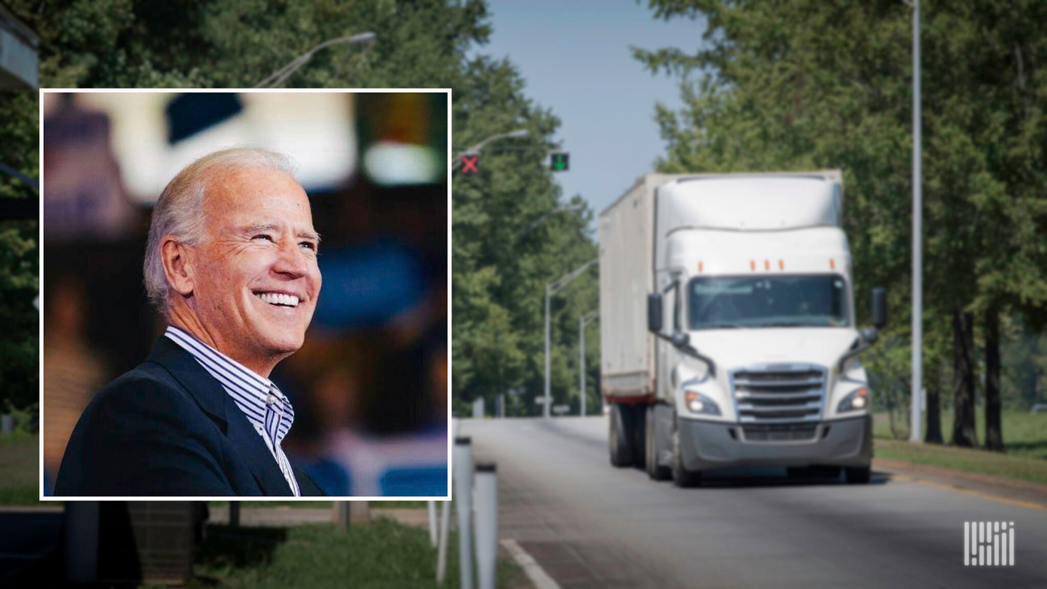 The Truckload Carriers Association will host a webinar on Tuesday to help truckload fleets understand current and potential regulations and other industry issues under the Biden administration. (Photo: Jim Allen/FreightWaves)