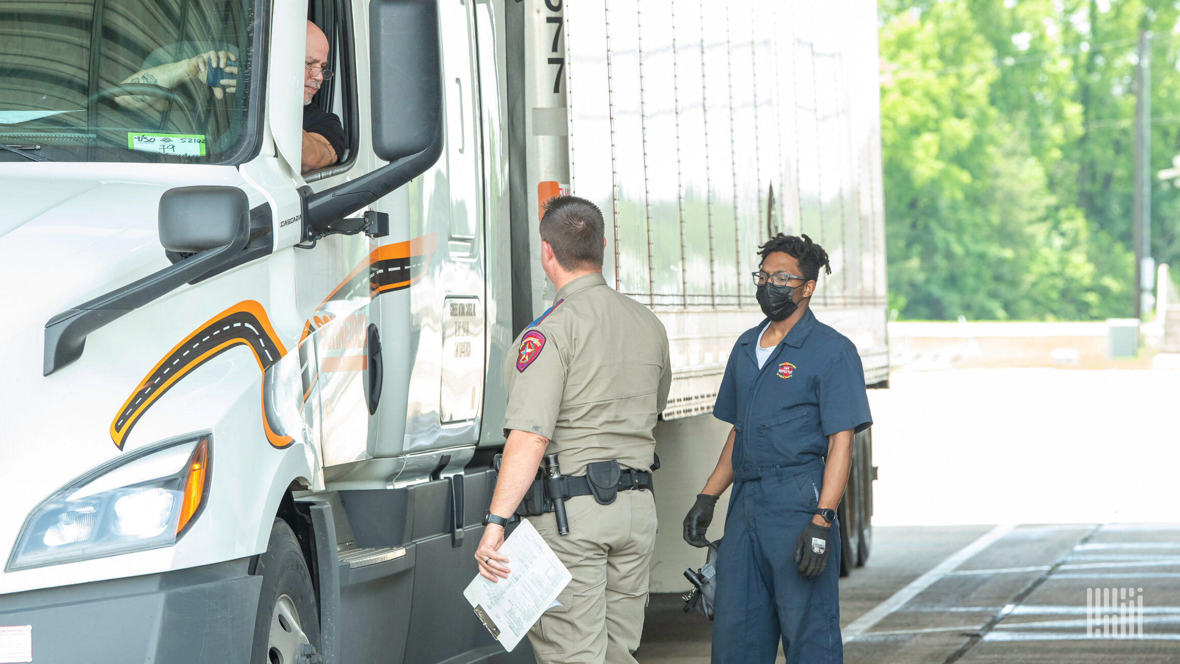 Operation Safe Driver Week is scheduled. Here's what inspectors will look for