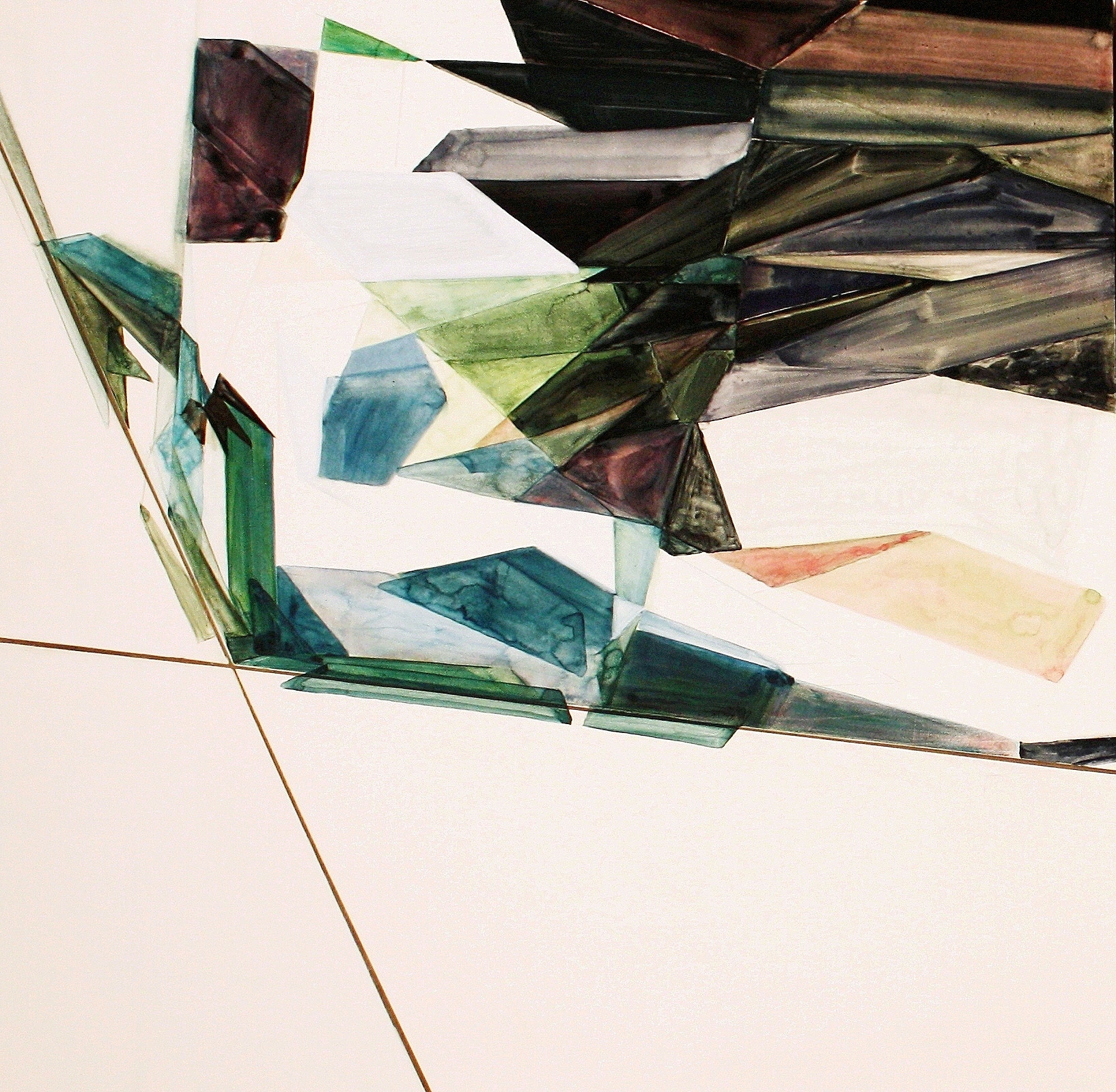 Untitled (cerulean), 2012