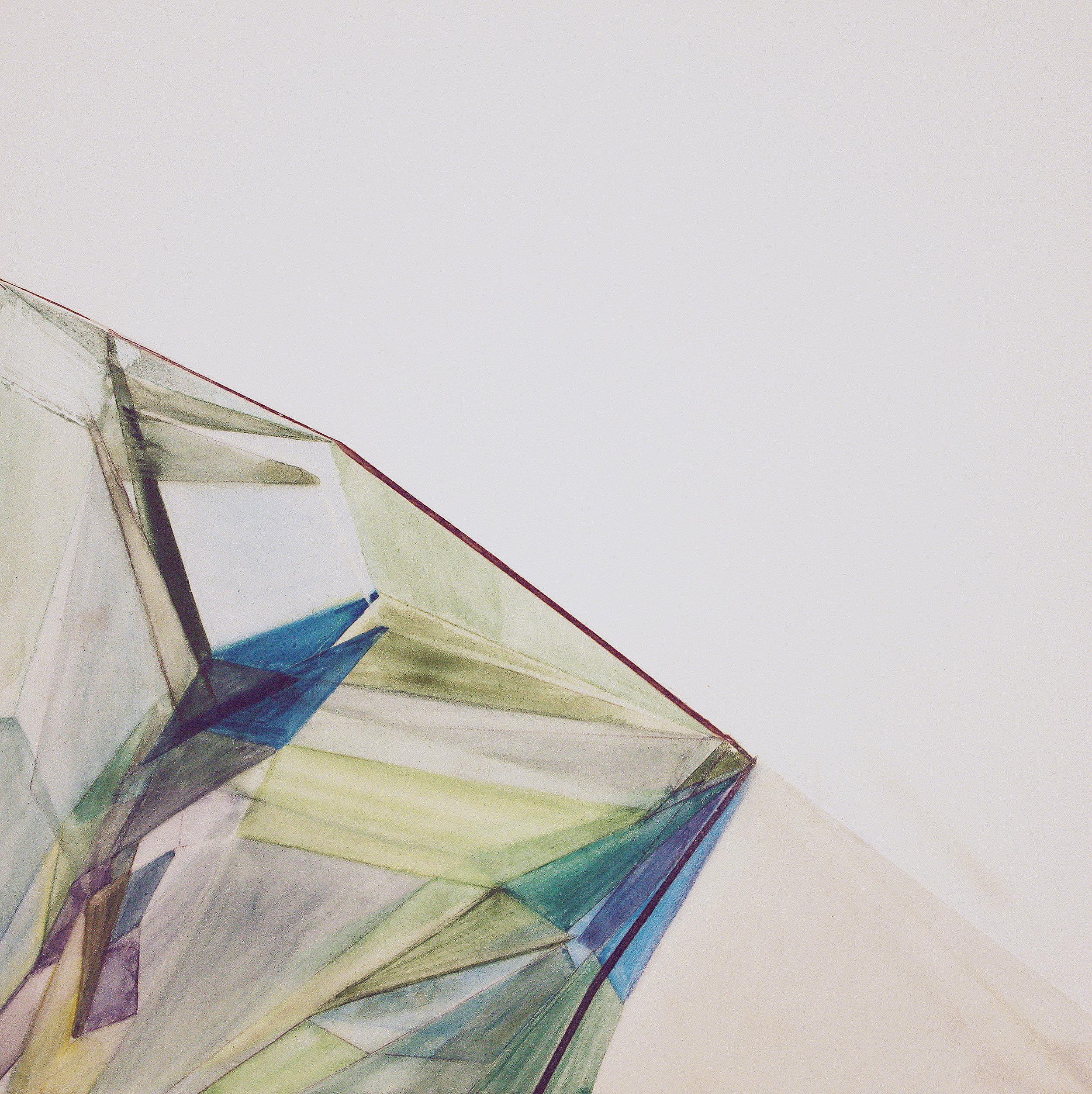 Untitled (blue green), 2012