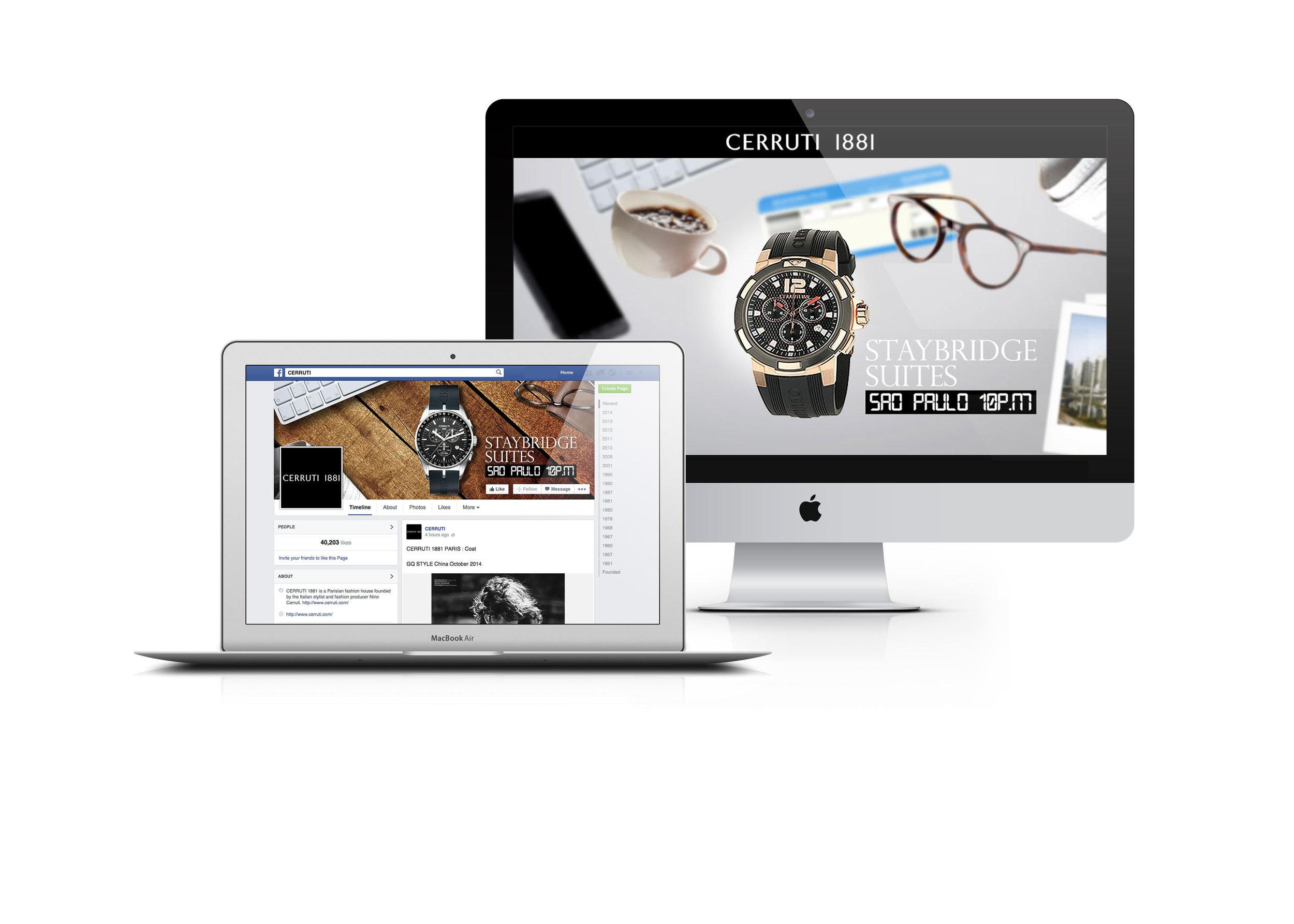 homepage personnalisée - parallax