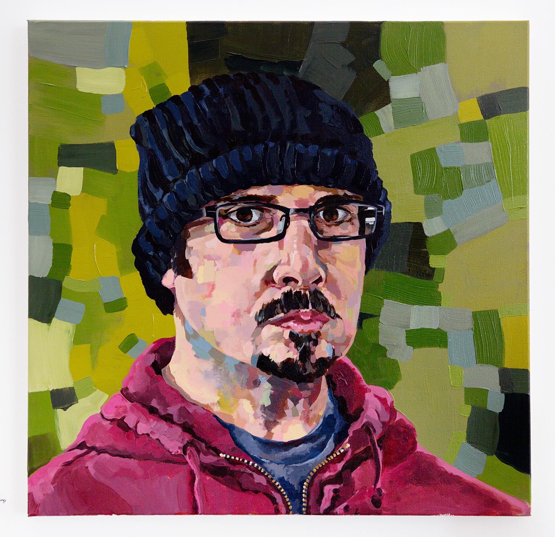 "Dan Siegel - ""Self-Titled"" Insta: @dan_siegel_paintings_drawings NFS"