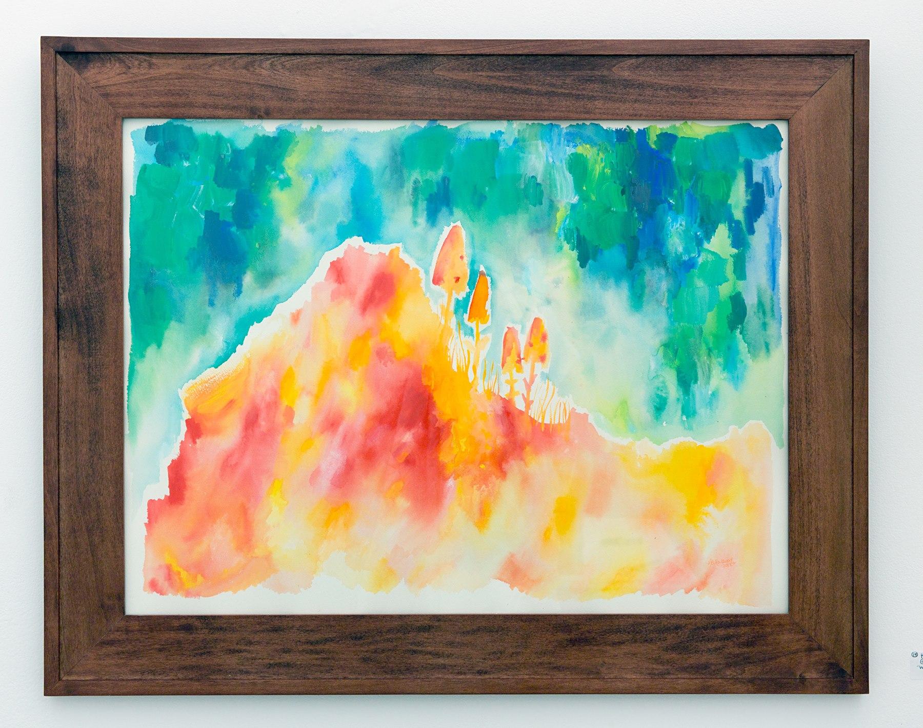 """Haley Bishop Rockwood - """"Wild mushrooms"""" Insta: @thepoppyclockcollective For Sale: $200"""