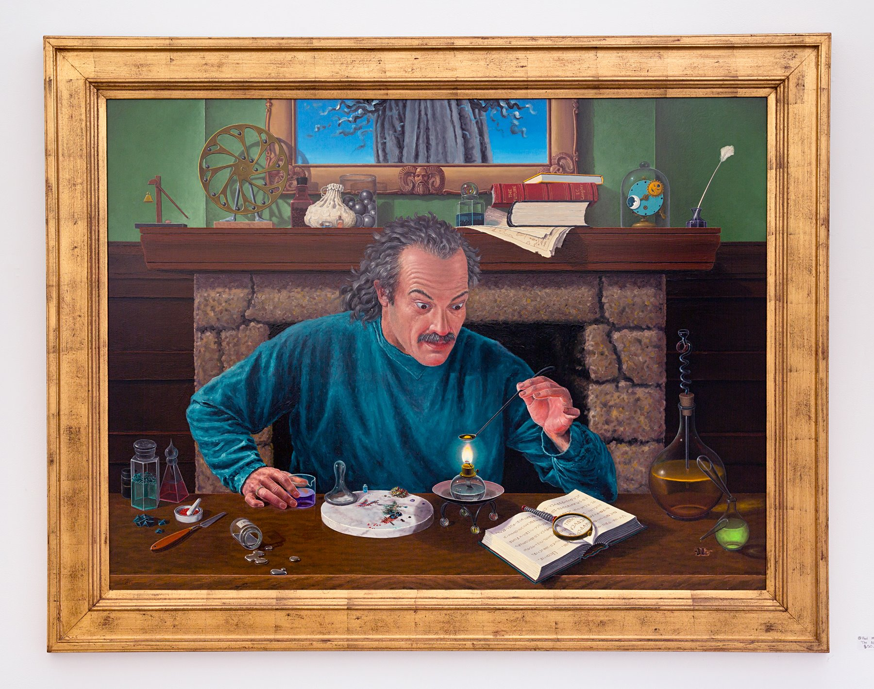 "Second Place Winner (Tie) Paul McMillan - ""The Alchemist"" For Sale: $50,000"