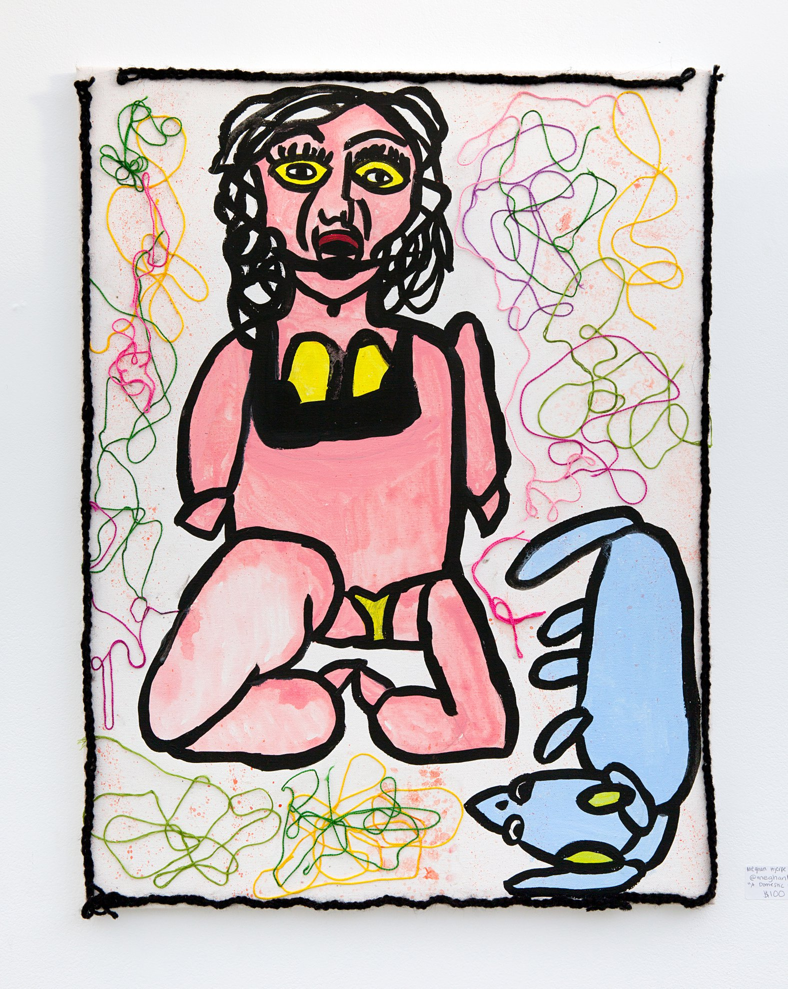"Meghan Hjerpe & Christian Dunn - ""A domestic woman + a domesticated dog"" Insta: @Meghanhjerpe  For Sale: $100"