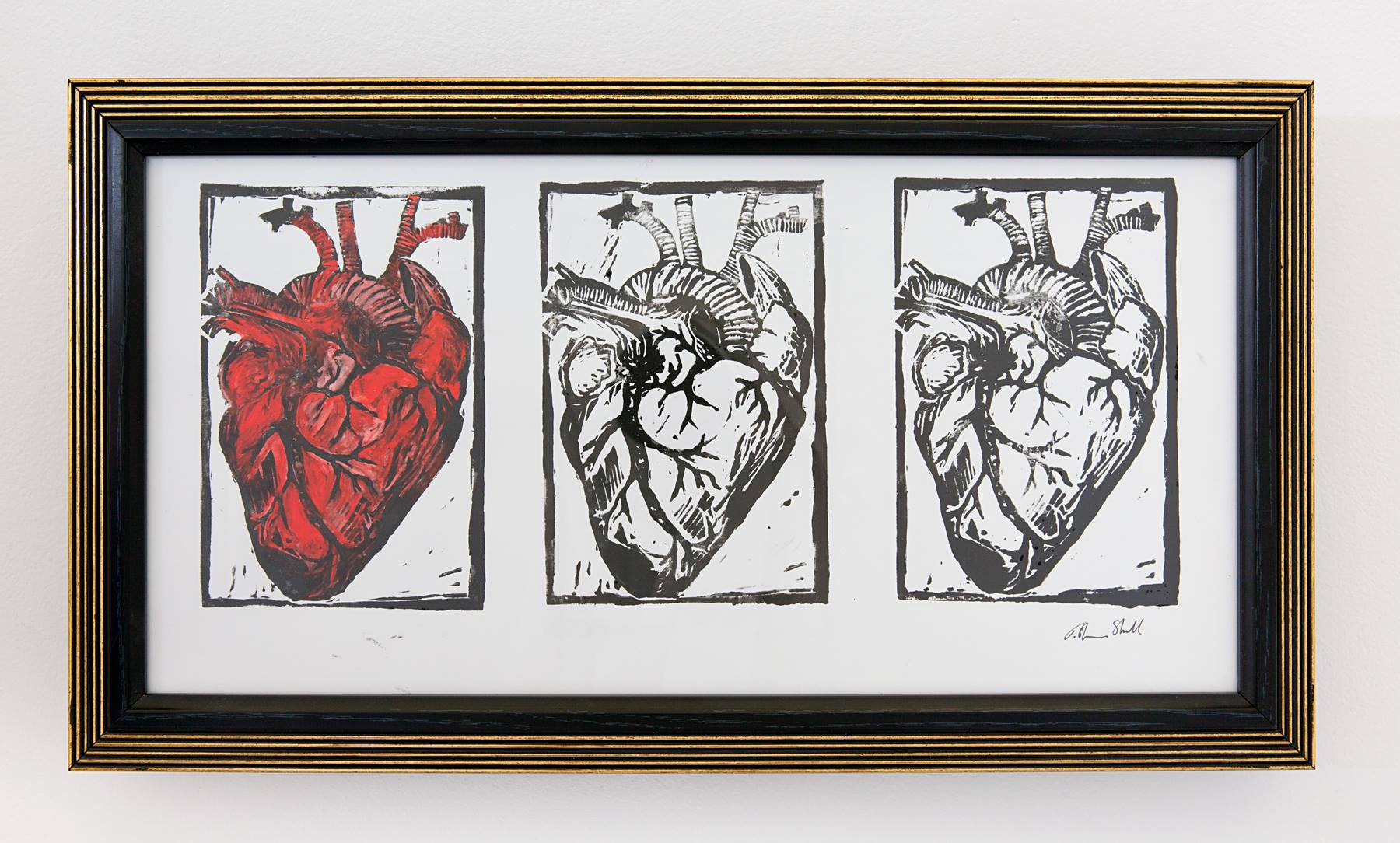 "Tisha Shull - ""Heart Throb"" Insta: @tishamesa  For Sale: $175"