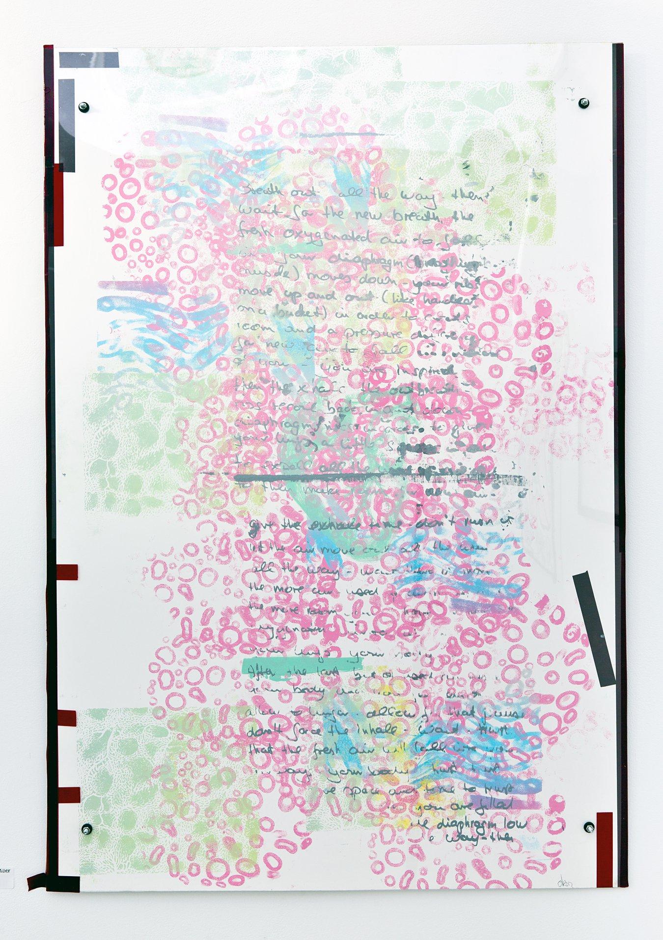 """Erika Senft Miller - """"Breating II"""" Insta: @erikasenftm  For Sale: $75"""