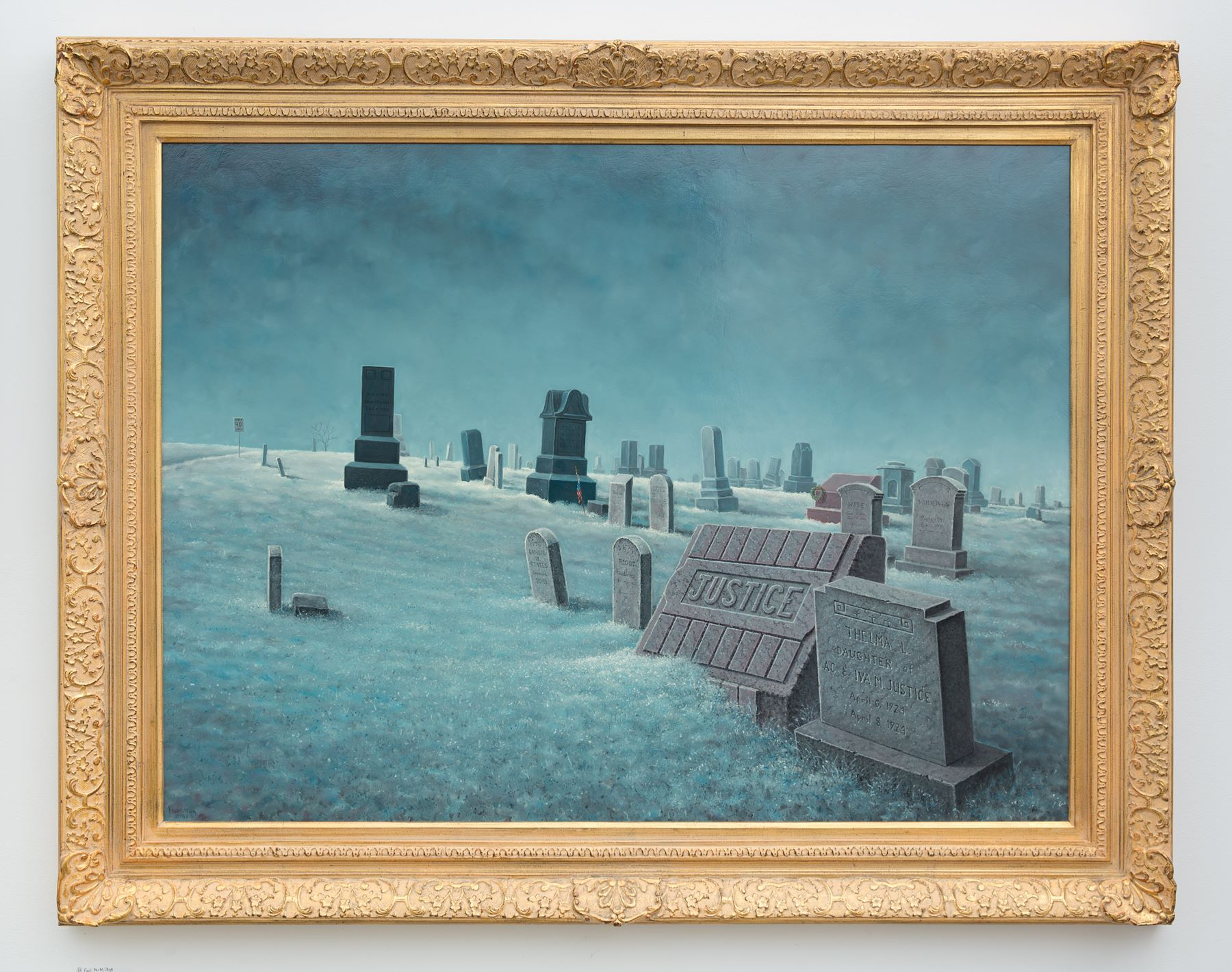 "Paul McMillan - ""The Death of Justice"" For Sale: $15,000"