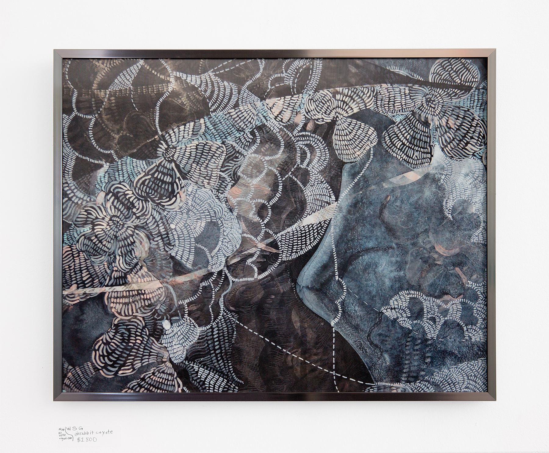 "Wylie Garcia - ""Untitled"" Insta: @rabbitcoyote For Sale: $1,800"