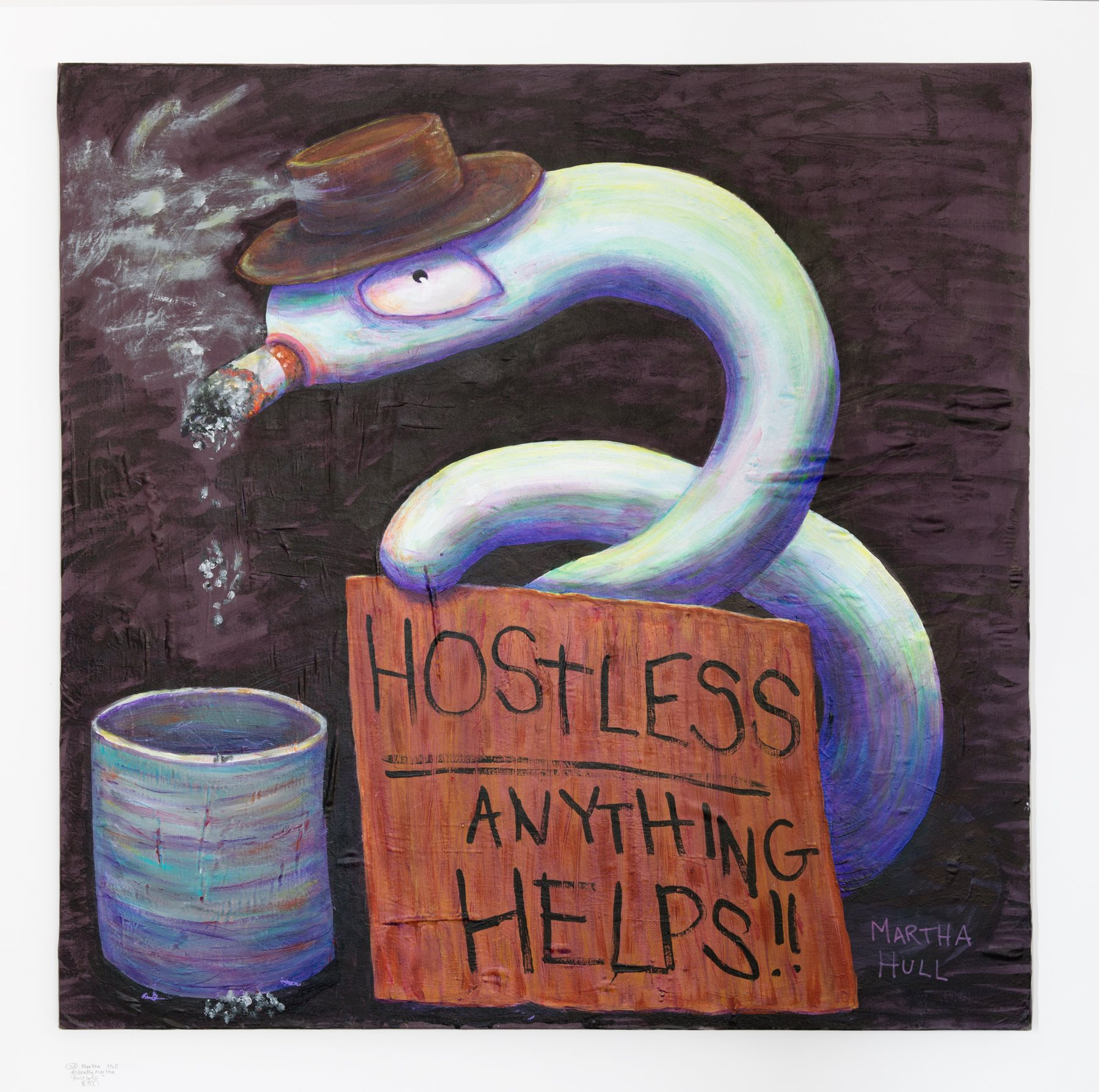 "Martha Hull - ""Hostless"" Insta: @deadlymartha  For Sale: $900"