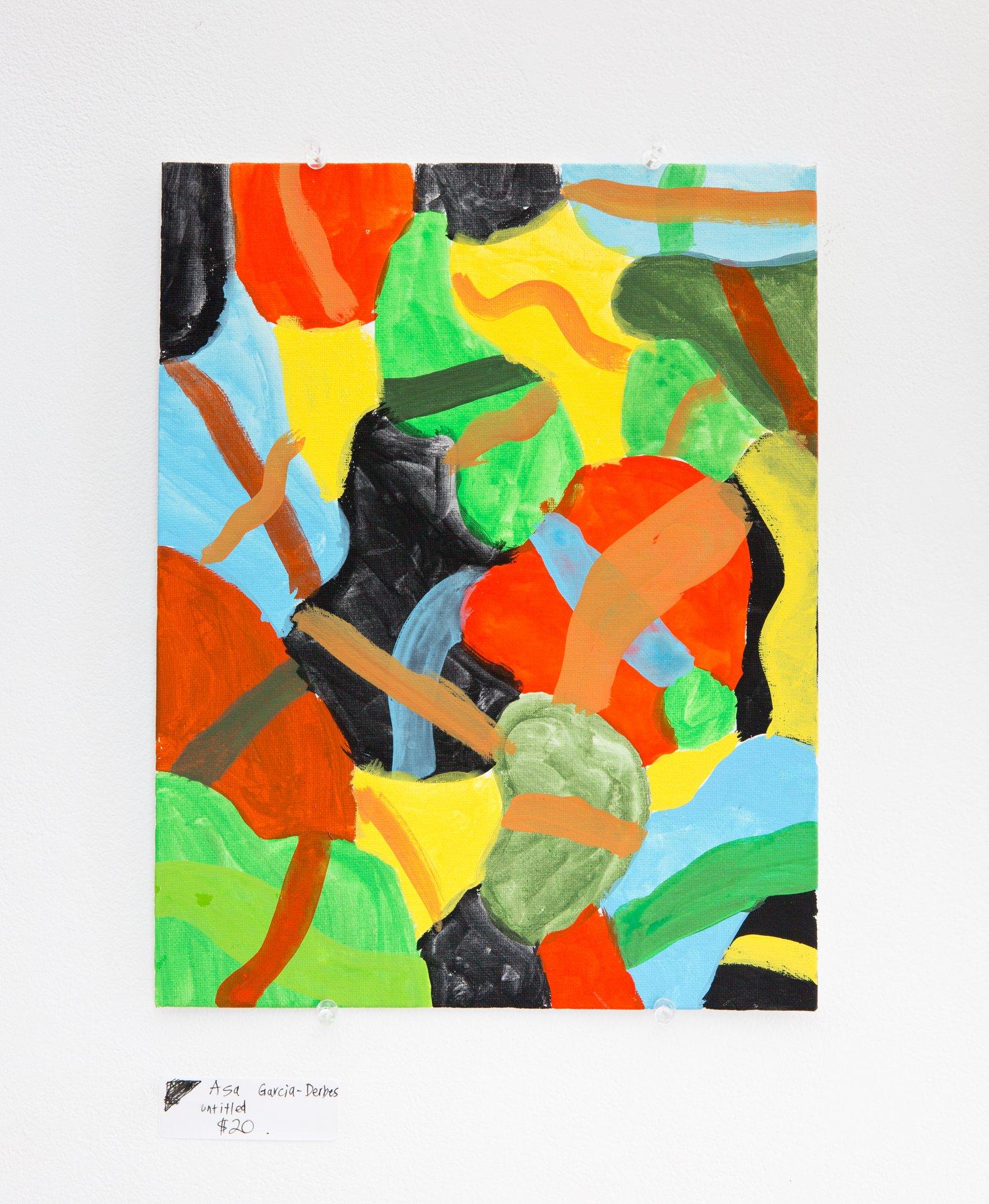 "Asa Garcia-Derbes - ""Untitled"" For Sale: $20"