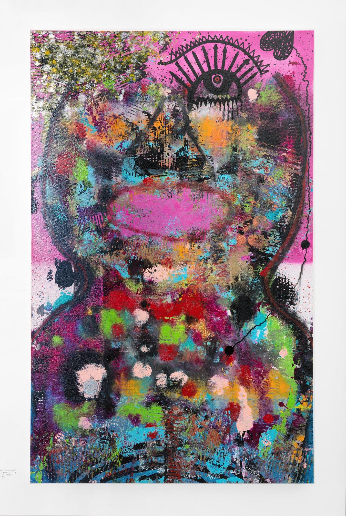 """Frank DeAngelis - """"I'm the one"""" Insta: @FrankDeAngelisArt   For Sale: $495"""