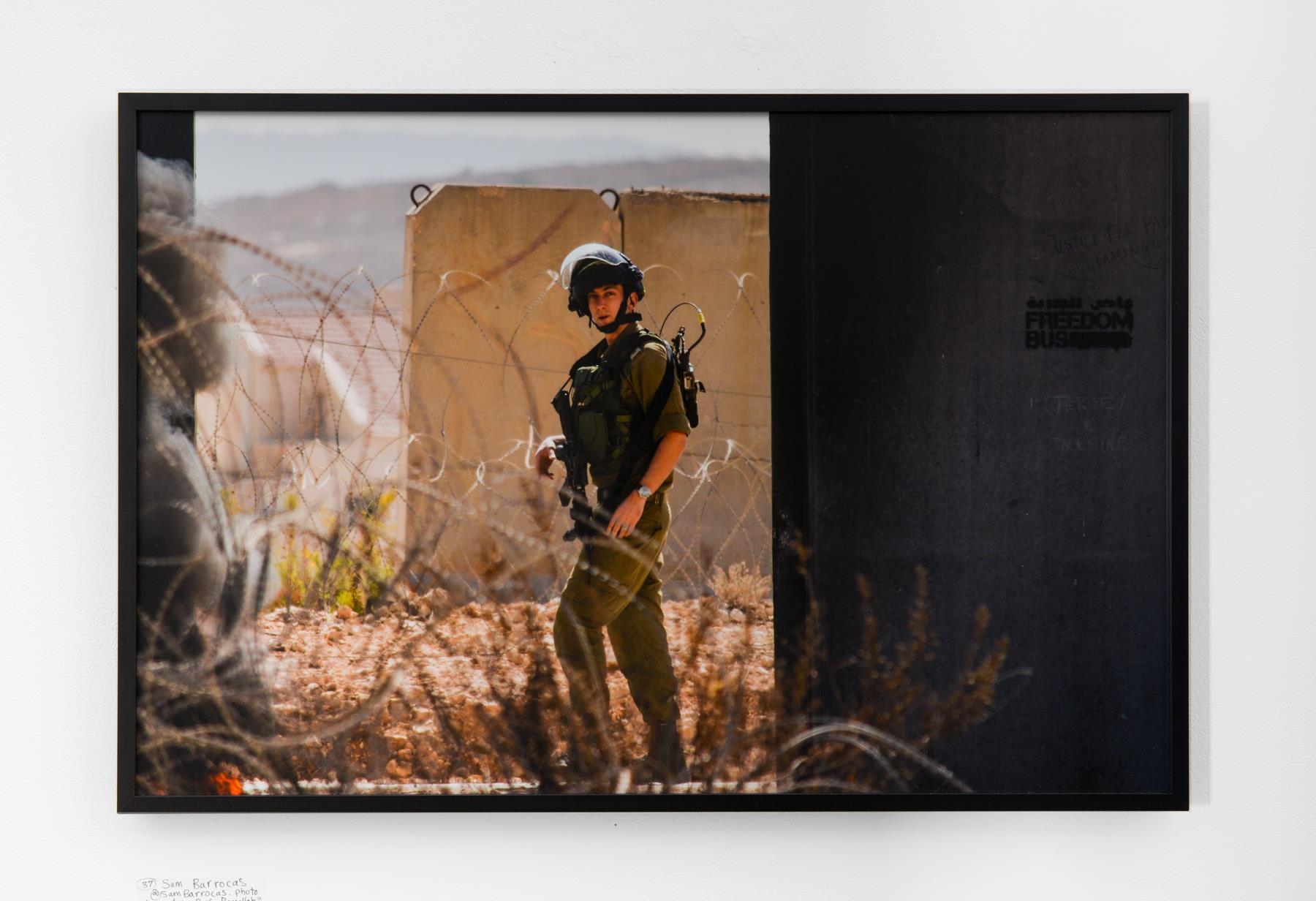"Sam Barrocas - ""Freedom Bus Ramallah"" Insta: @SamBarrocas.photo  For Sale: $180"