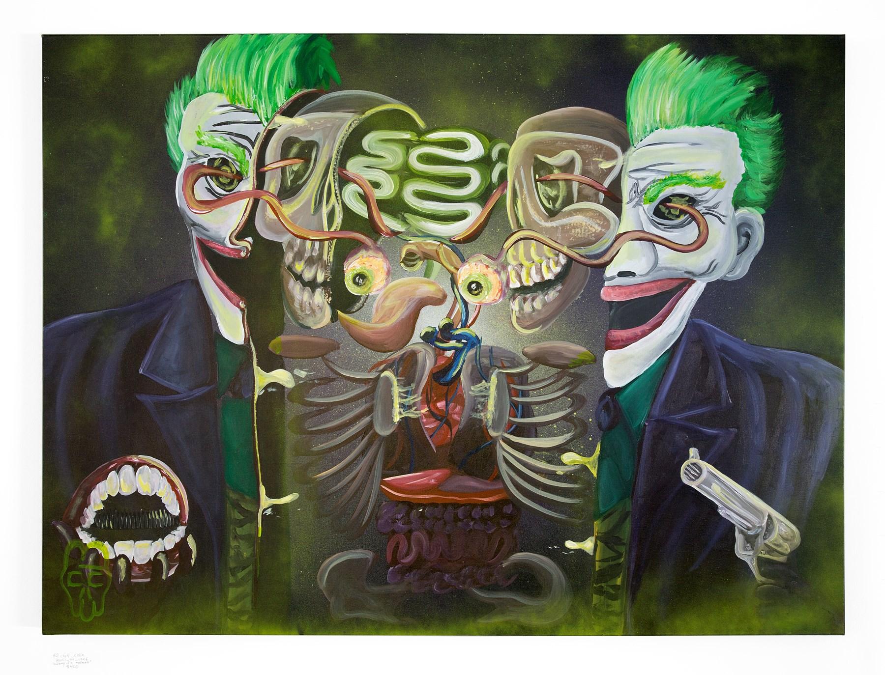 "Chef Colin - ""Anatomy of a Madman"" Insta: @colin_the_chef For Sale: $400"