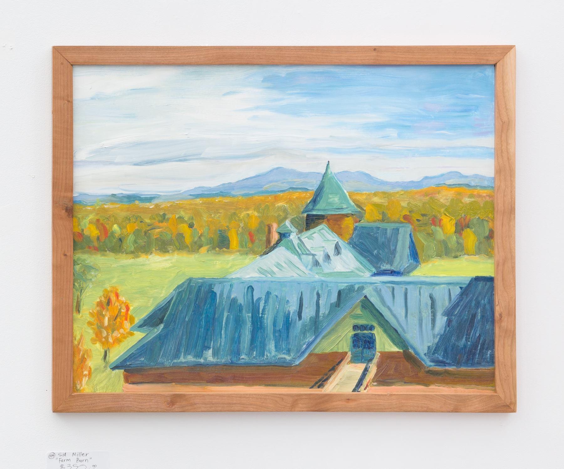 """Sid Miller - """"Farm Barn"""" For Sale: $350"""