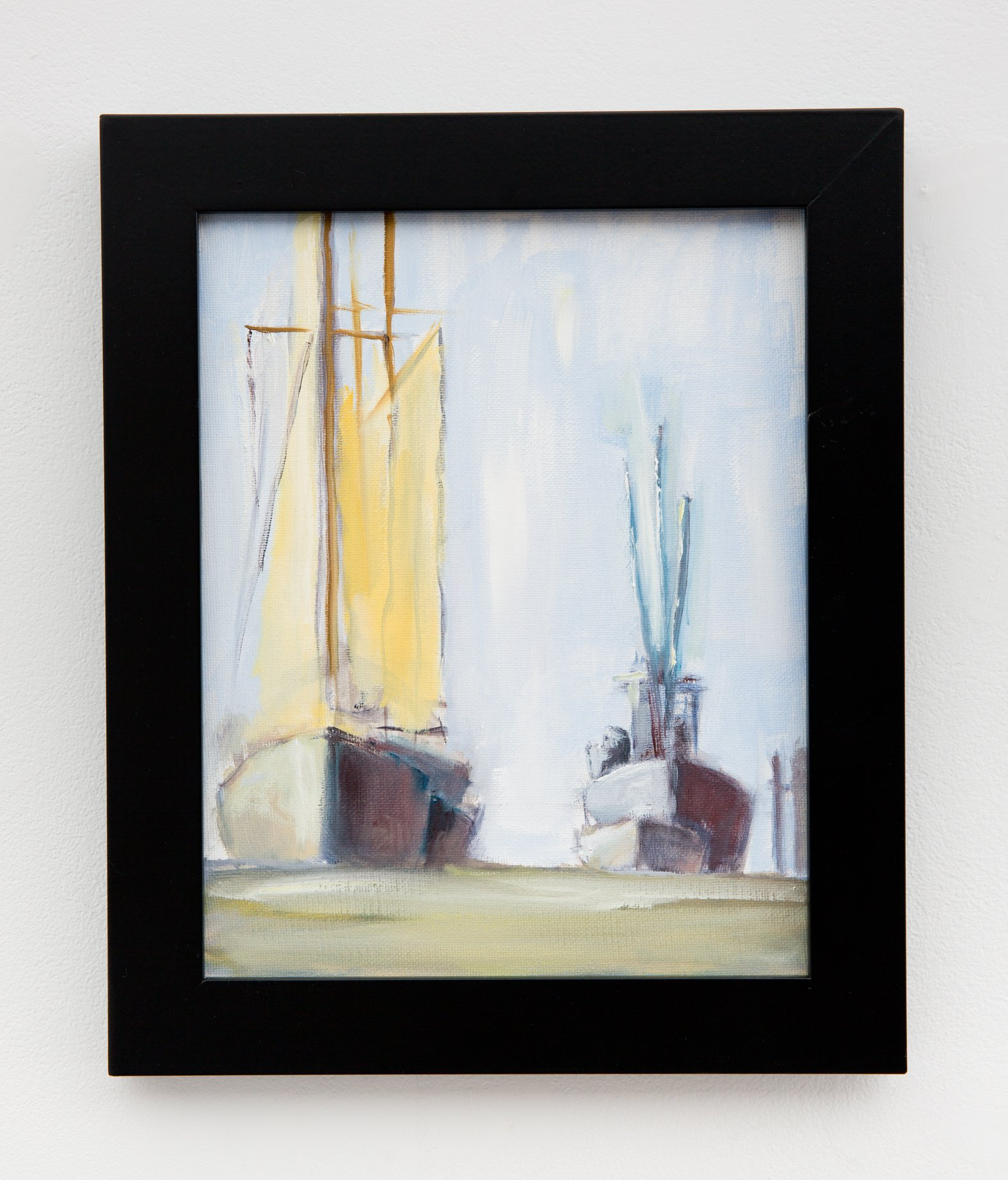 "Fred Morgan - ""In Harbor"" For Sale: $150"