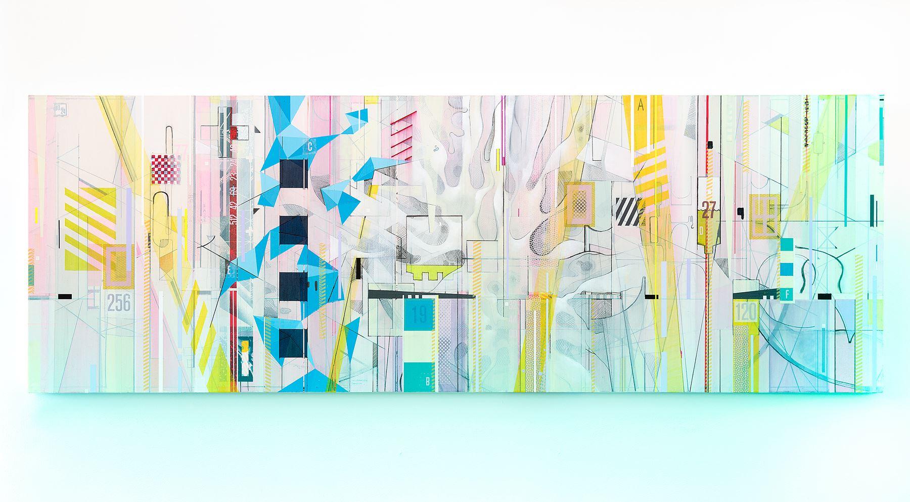 "Scott Andre Campbell - ""Laisse Toi Faire"" Insta: @luminome  For Sale: $5,600"