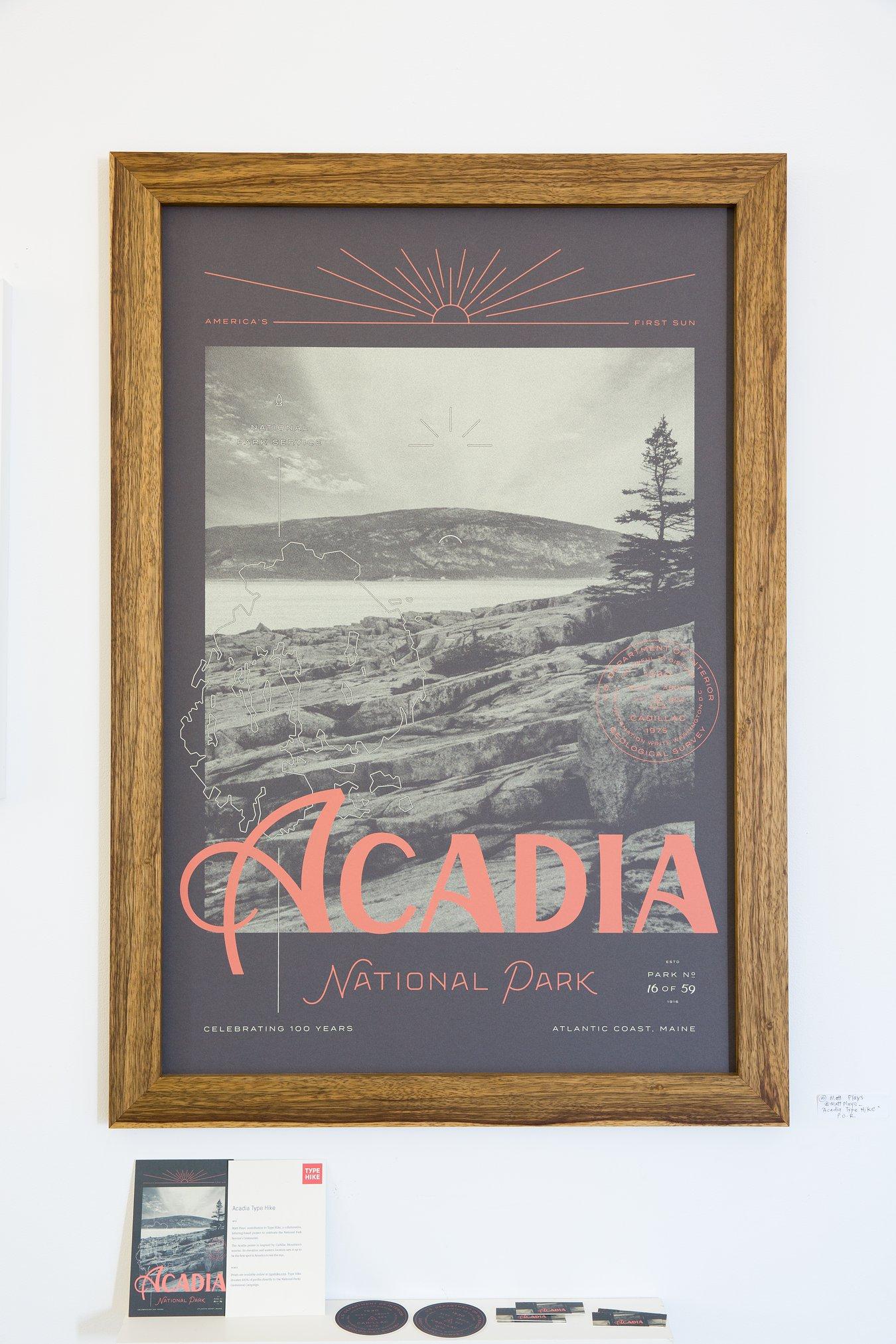 "Matt Plays - ""Acadia TypeHike"" Insta: @MattPlays_  For Sale :  http://typehike.com/acadia/"