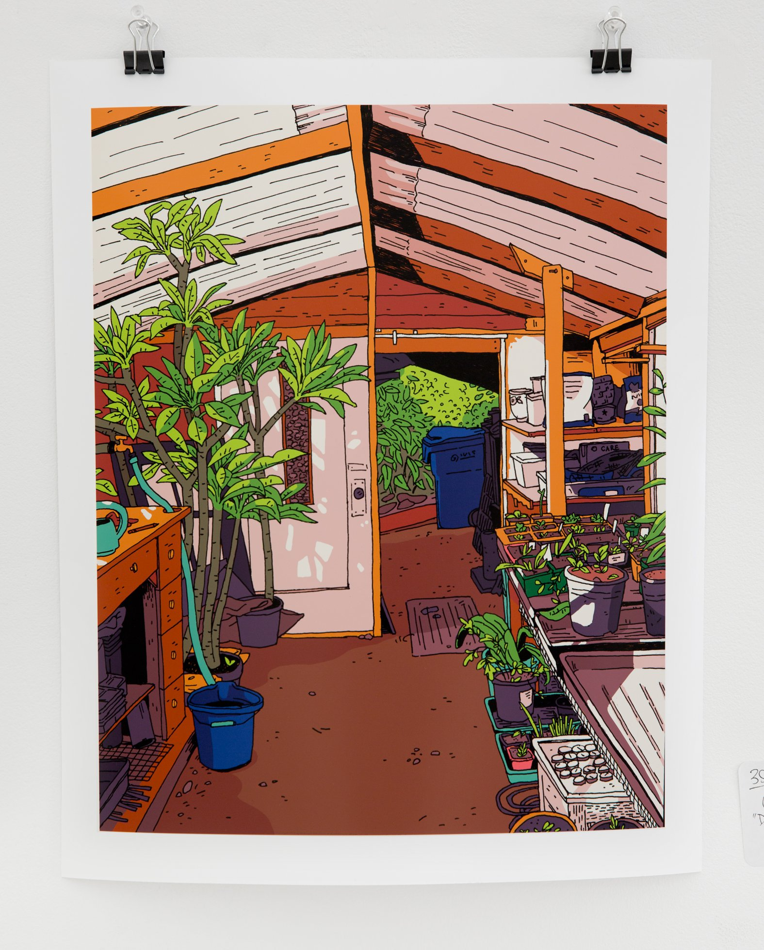 "Kayla Schroter - ""Dad's Greenhouse"" Insta: @kaylaschroter For Sale: $50"