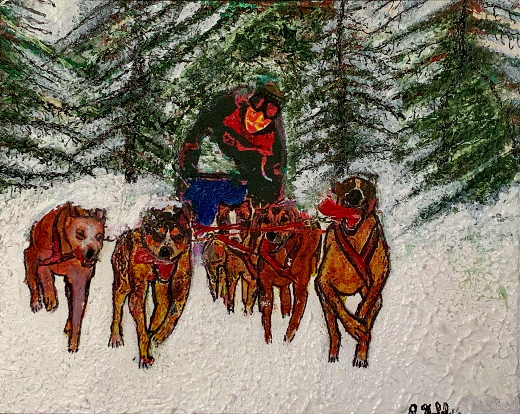 """Robert Gold - """"Morgan"""" Insta: @bobgold.art For Sale: $125"""