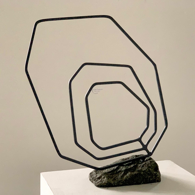 """Second Place (Tie) Slag Sculptures - """"-EPI-"""" Insta: @slagvt  For Sale: $300"""