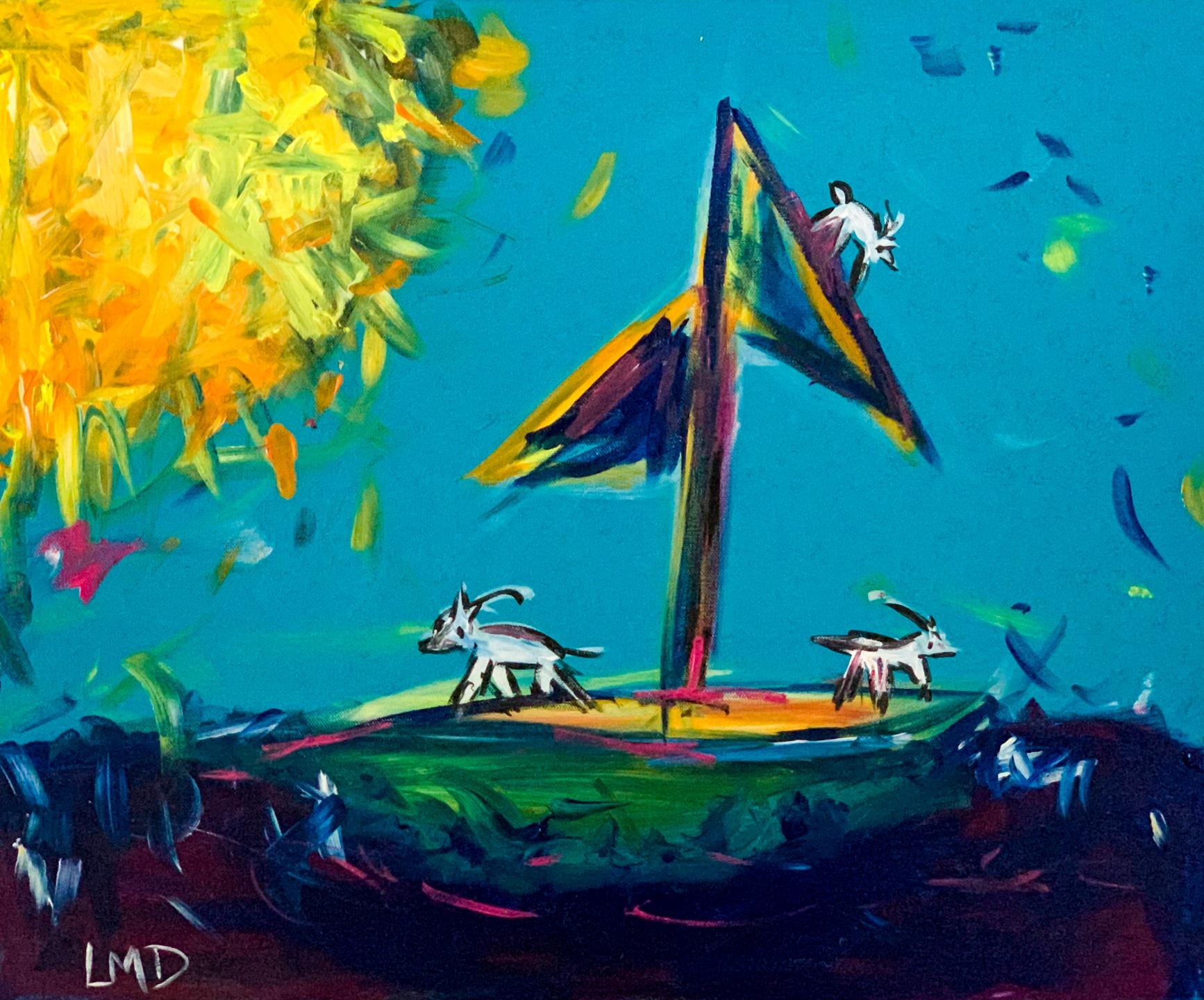 "Linda Dulleba - ""Goats on a boat"" NFS"
