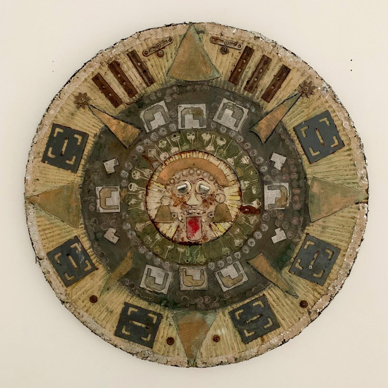 "Jason Pappas - ""Aztec Tech"" Insta: @thefactorywall  For Sale: $175"