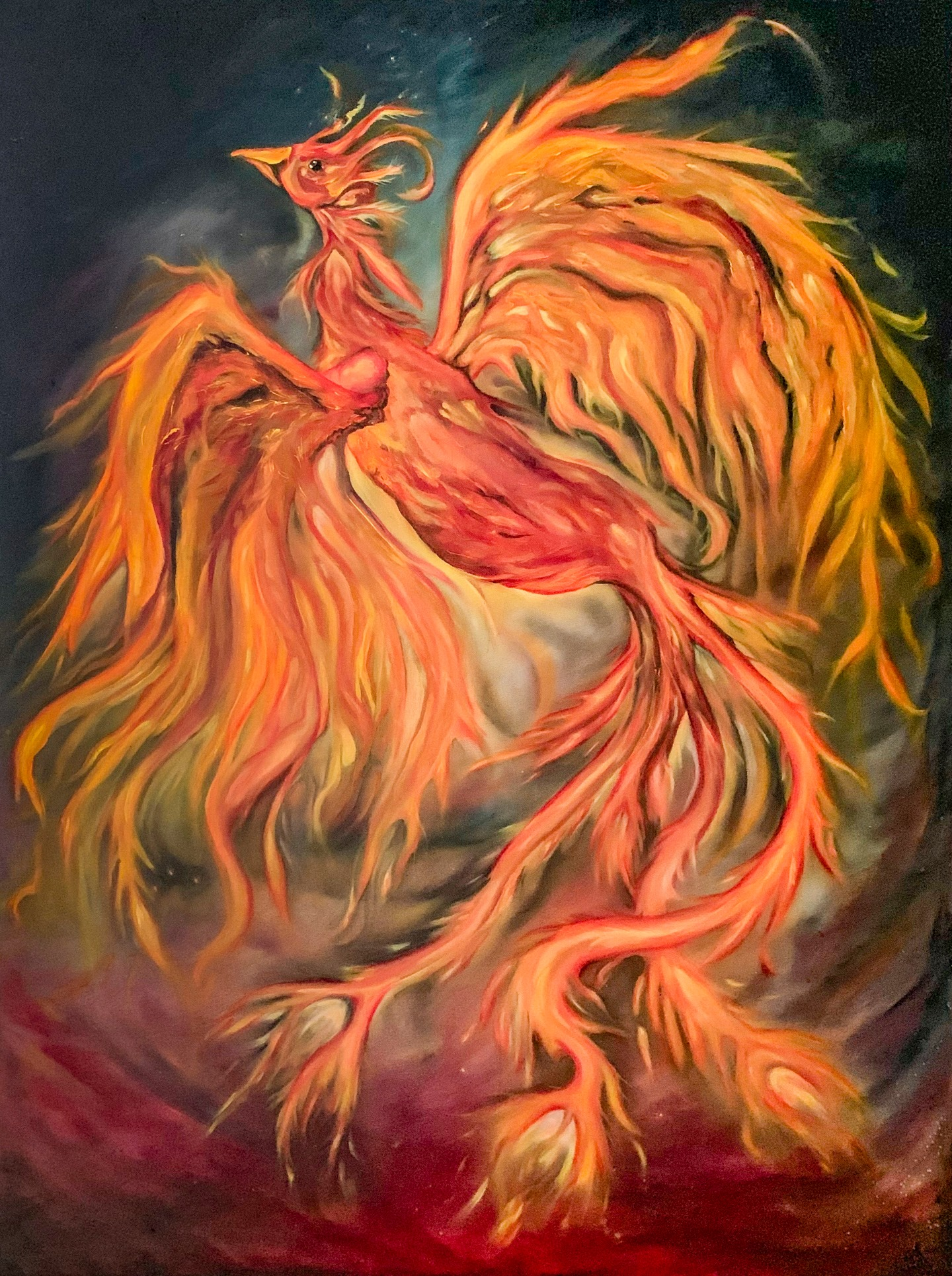 """Sonya Sayers - """"Phoenix"""" For Sale: $3,600"""