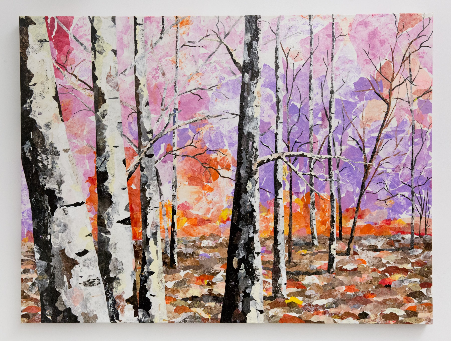 "First place mini-grant winner: Jo Thomas - ""Tangerine Sunset"" For Sale: $1,800"