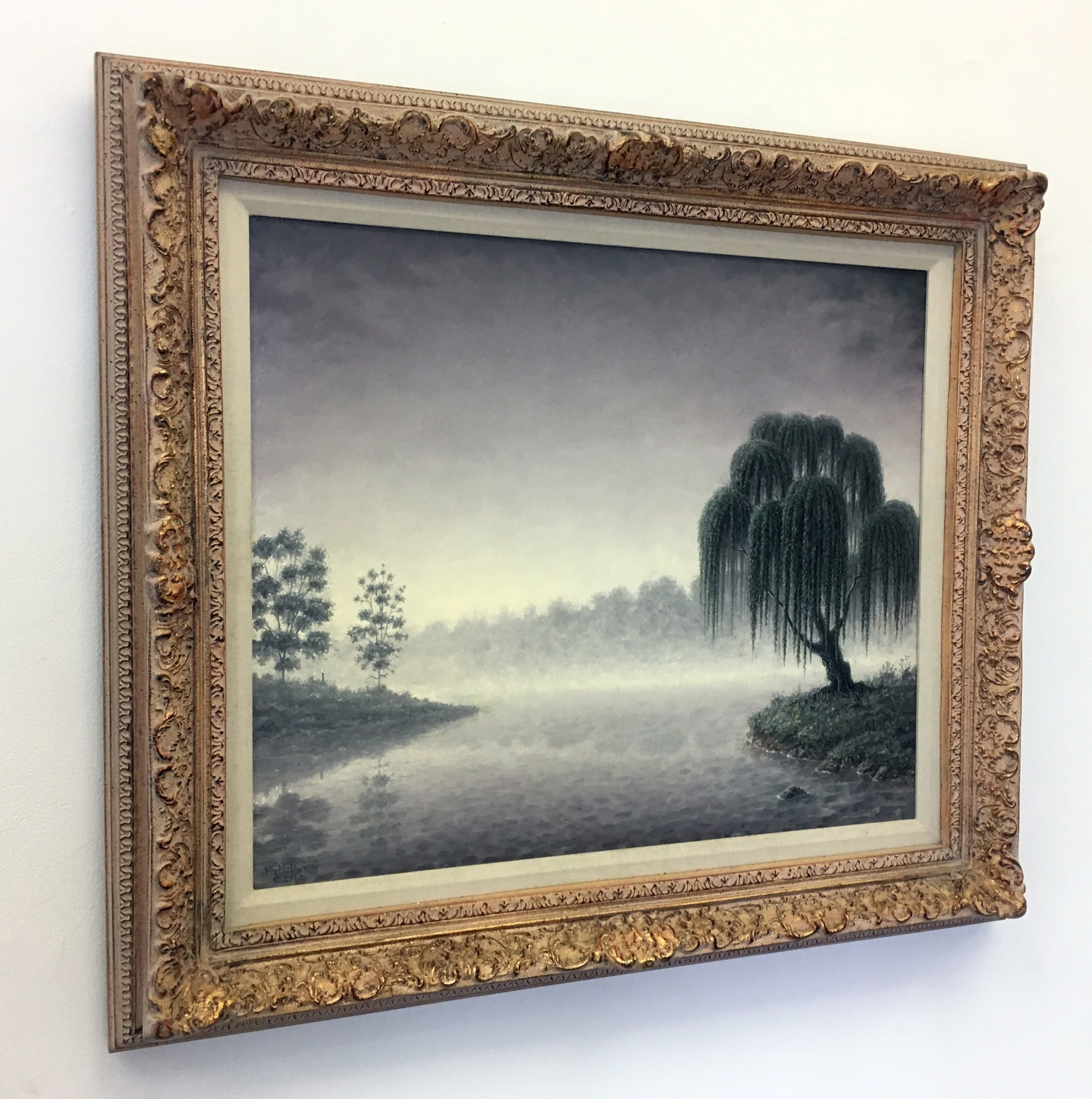 """Paul McMillan - """"Misty Morning"""" For Sale: $2,600"""