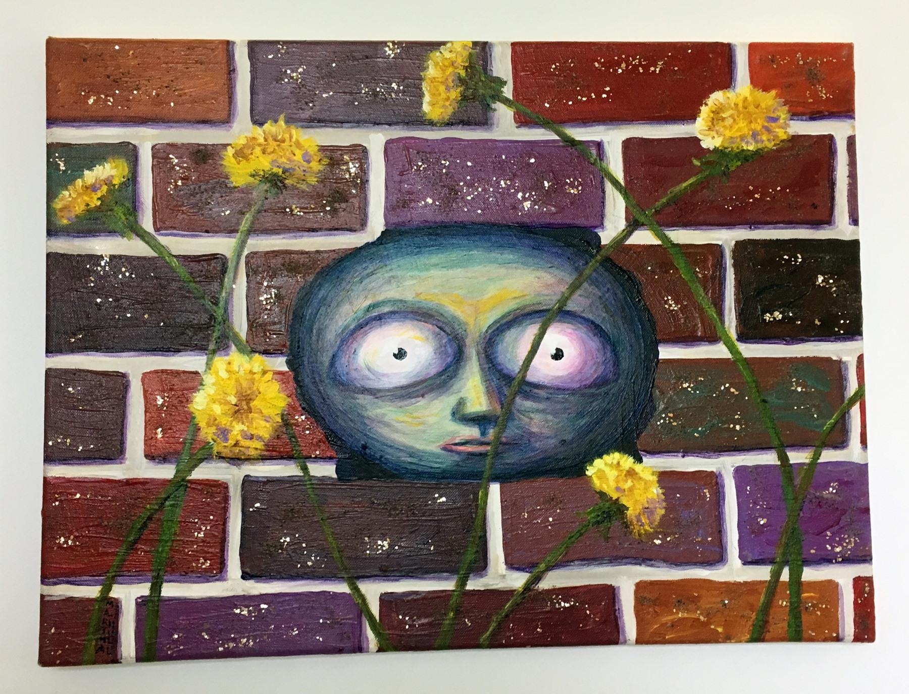 "Martha Hull - ""Escape to Spring"" Insta: @deadlymartha  For Sale: $585"