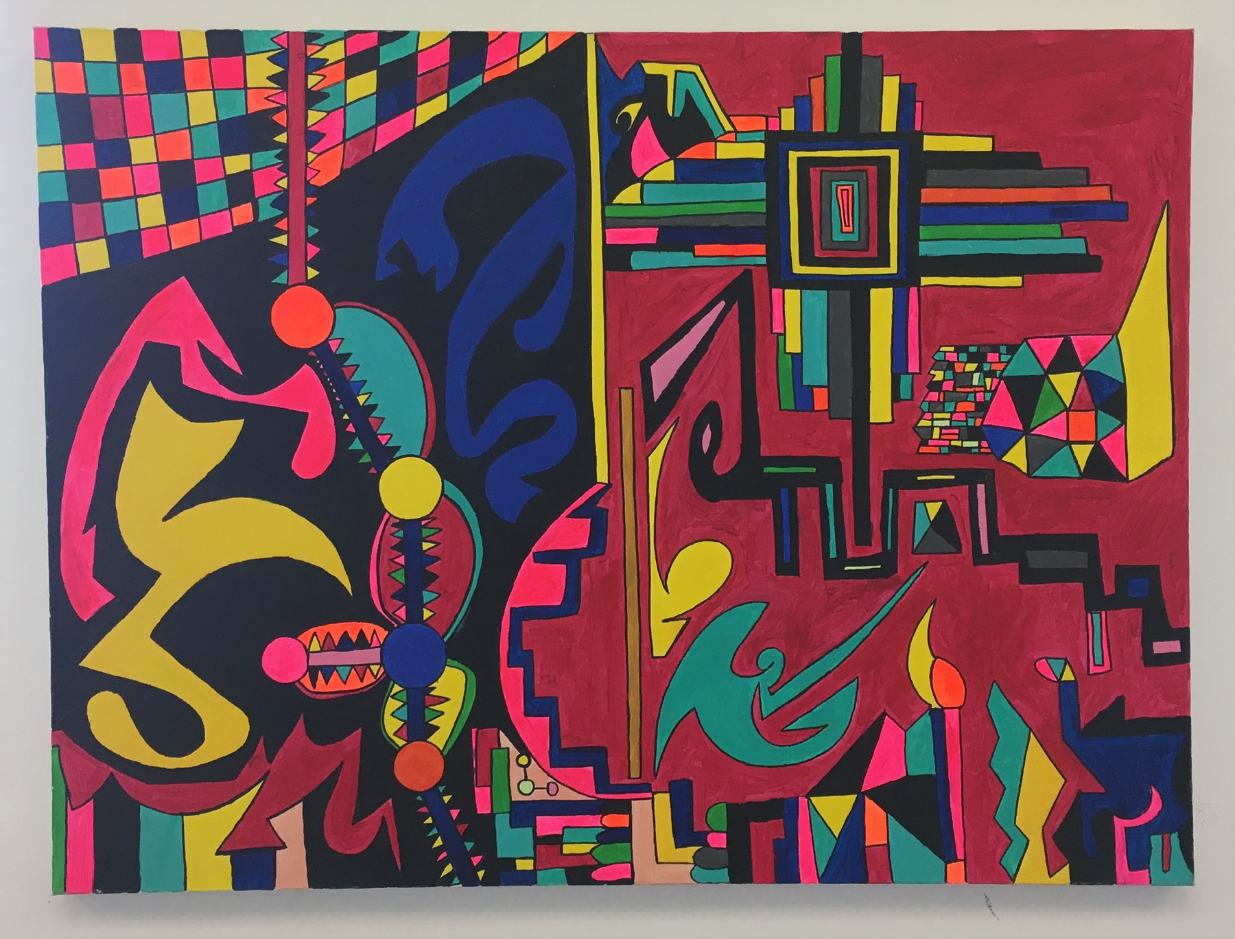 """Stephen Sharon - """"Living in a neutron dance"""" Insta: @stevesharonart For Sale: $350"""