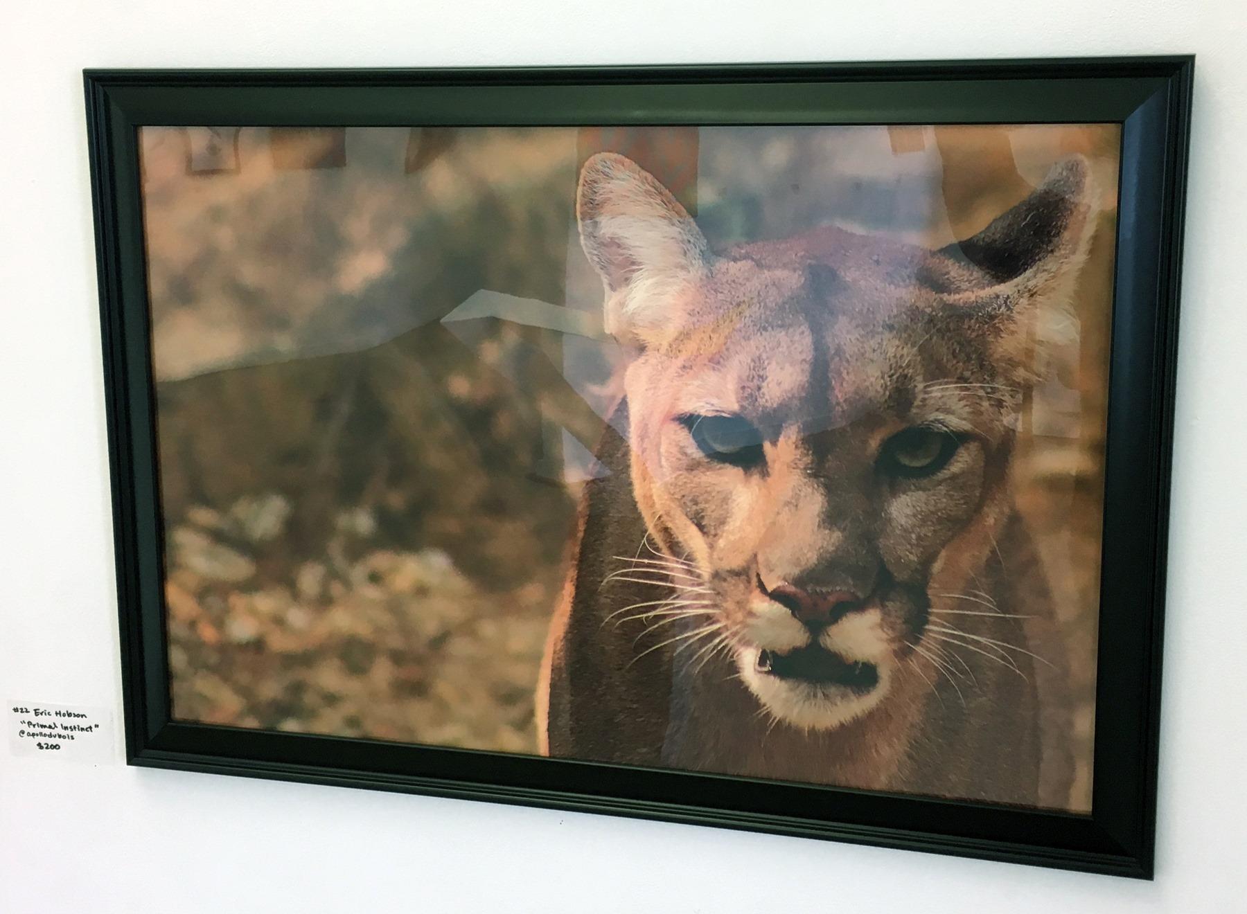 """Eric Hobson - """"Primal Instinct"""" Insta: @apollodubois For Sale: $200"""