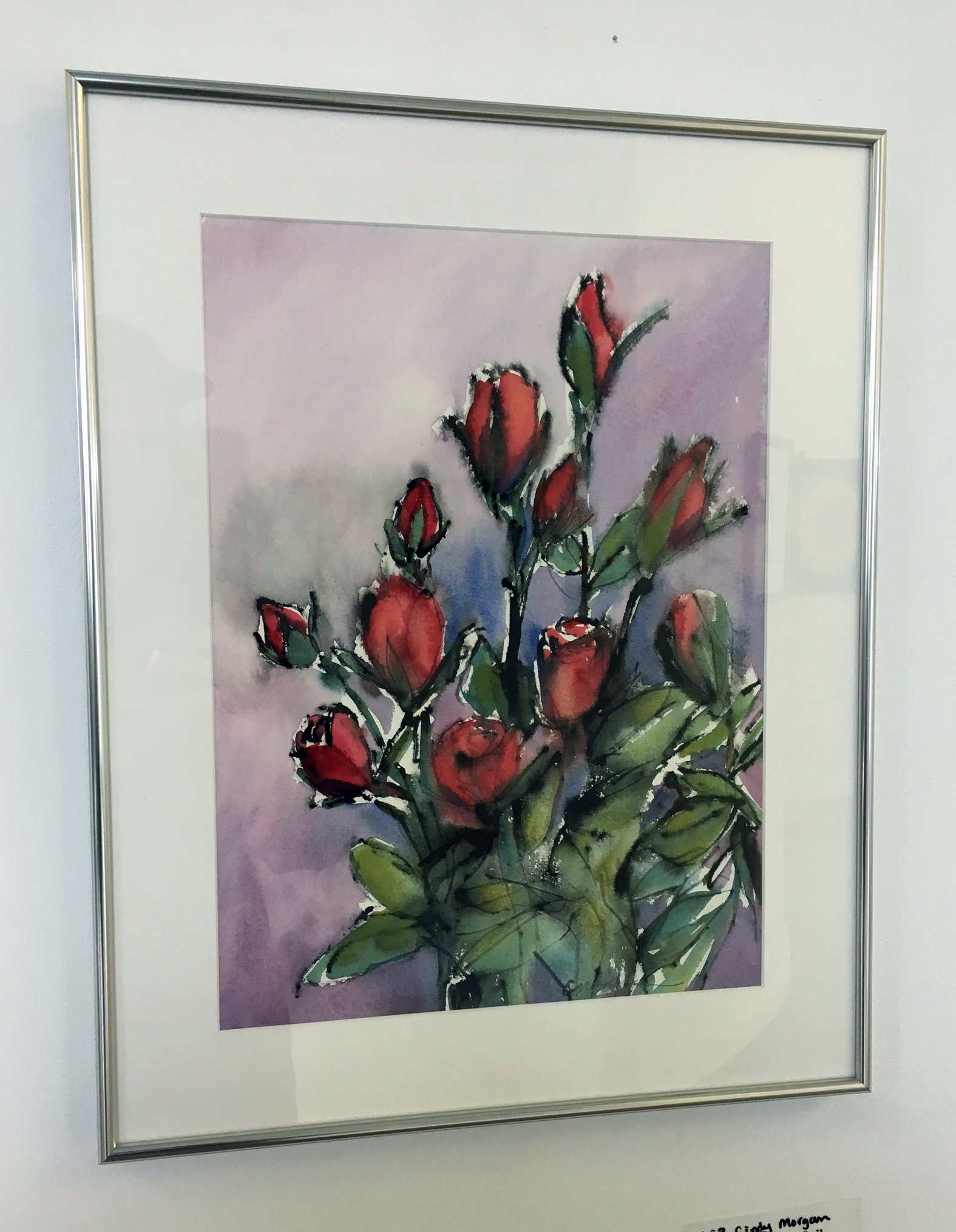 """Cindy Morgan - """"Healing Roses"""" For Sale: $390"""