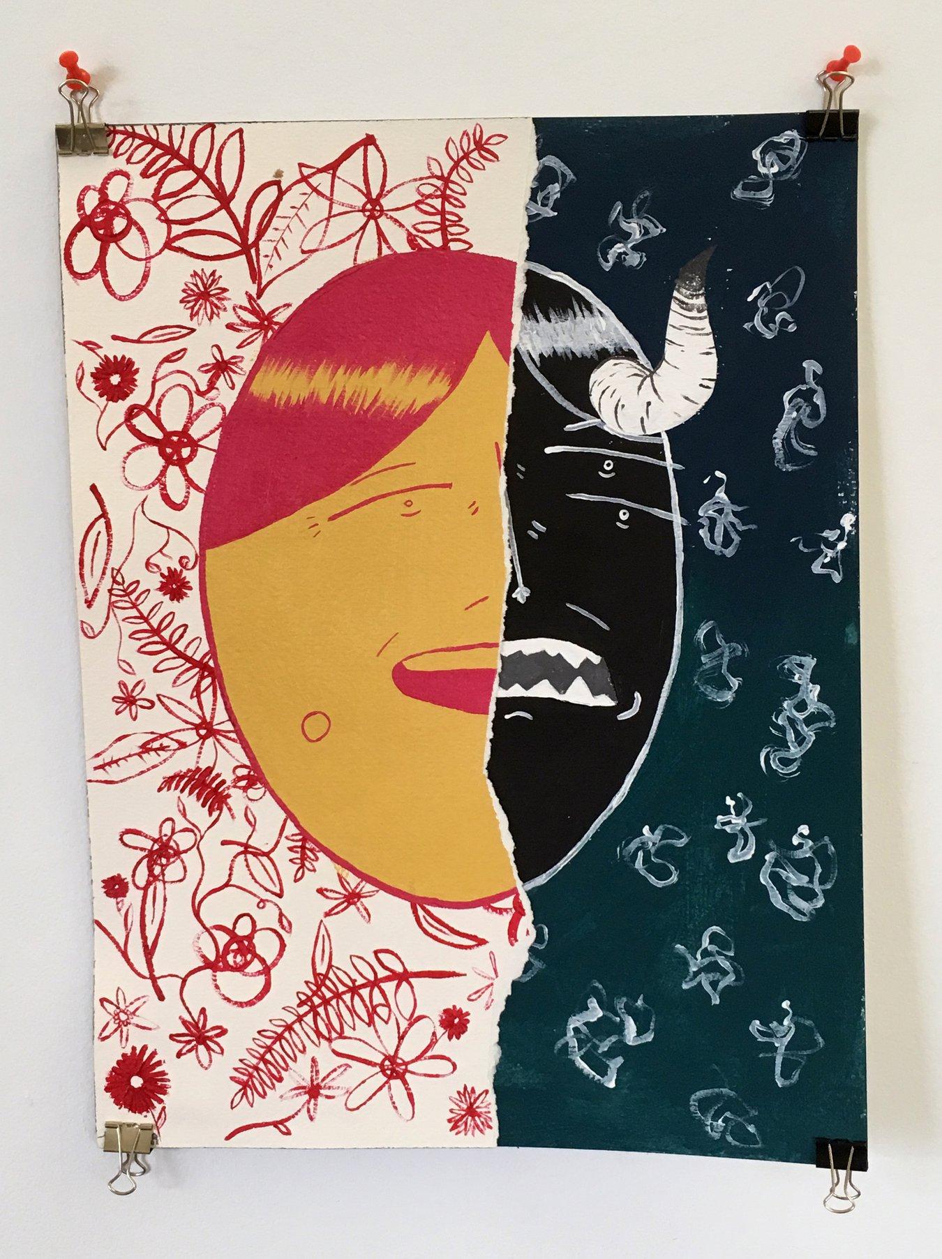 "Tucker Speer - ""Inner Demon"" Insta: @speertucker  For Sale: $120"