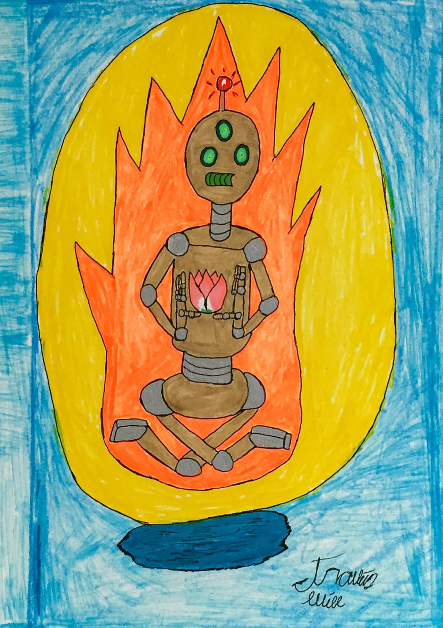 """Travis Will - """"Lotus Bot"""" Insta: @super_travis_destroy  For Sale: $75"""