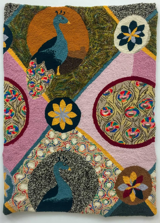 """Teresa Shoudt - """"Peacocks"""" @teresashoudt  For Sale: $5,000"""