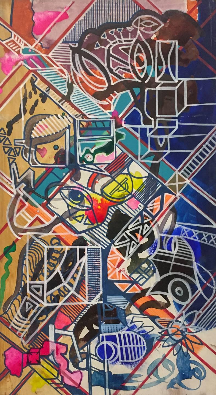 "Eric Eickmann - ""Grid"" @eickmannart  For Sale: $80"