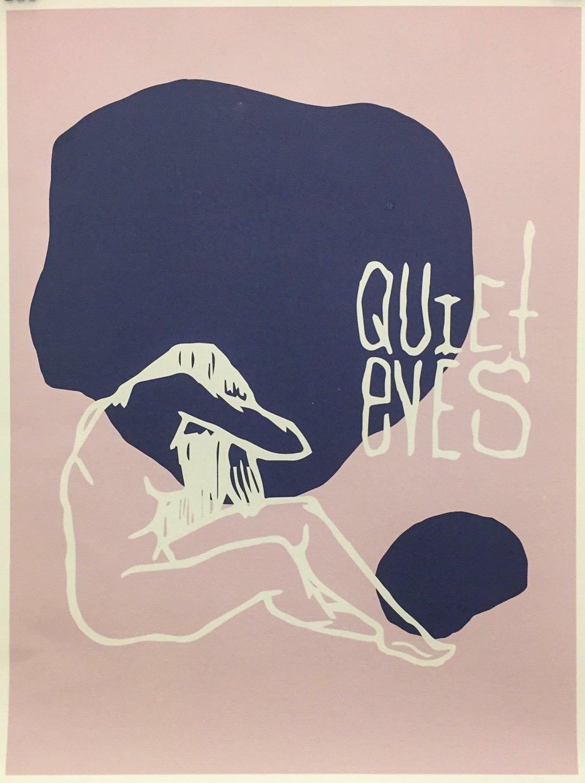 "Chris Barlow - ""Quiet Eyes"" @slow.sea.studios  For Sale: $25"