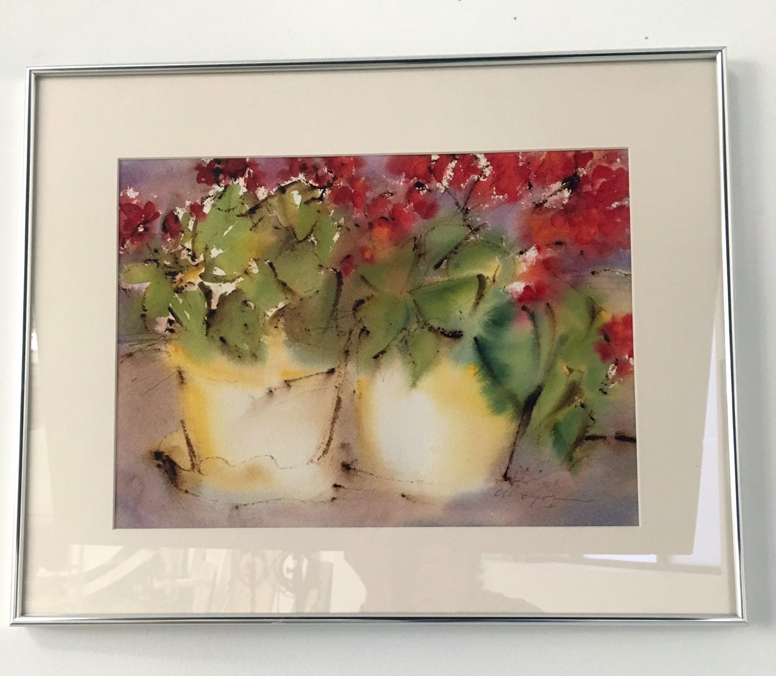 """Cindy A. Morgan - """"Two Bright Lights that Shine Together"""" For Sale: $325"""