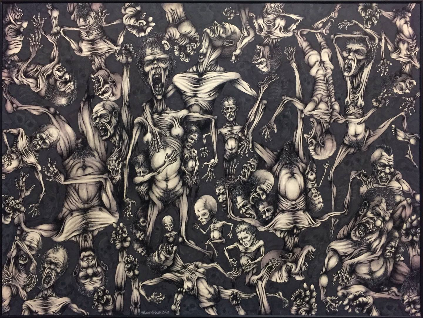 """Andrew Prendimano - """"The History of Empires"""" For Sale: $1,250"""