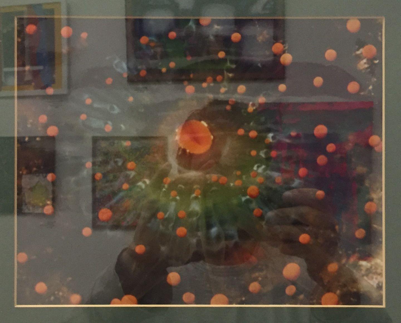 "John Bisson - ""Emerald Orange Bail"" For Sale: $125"