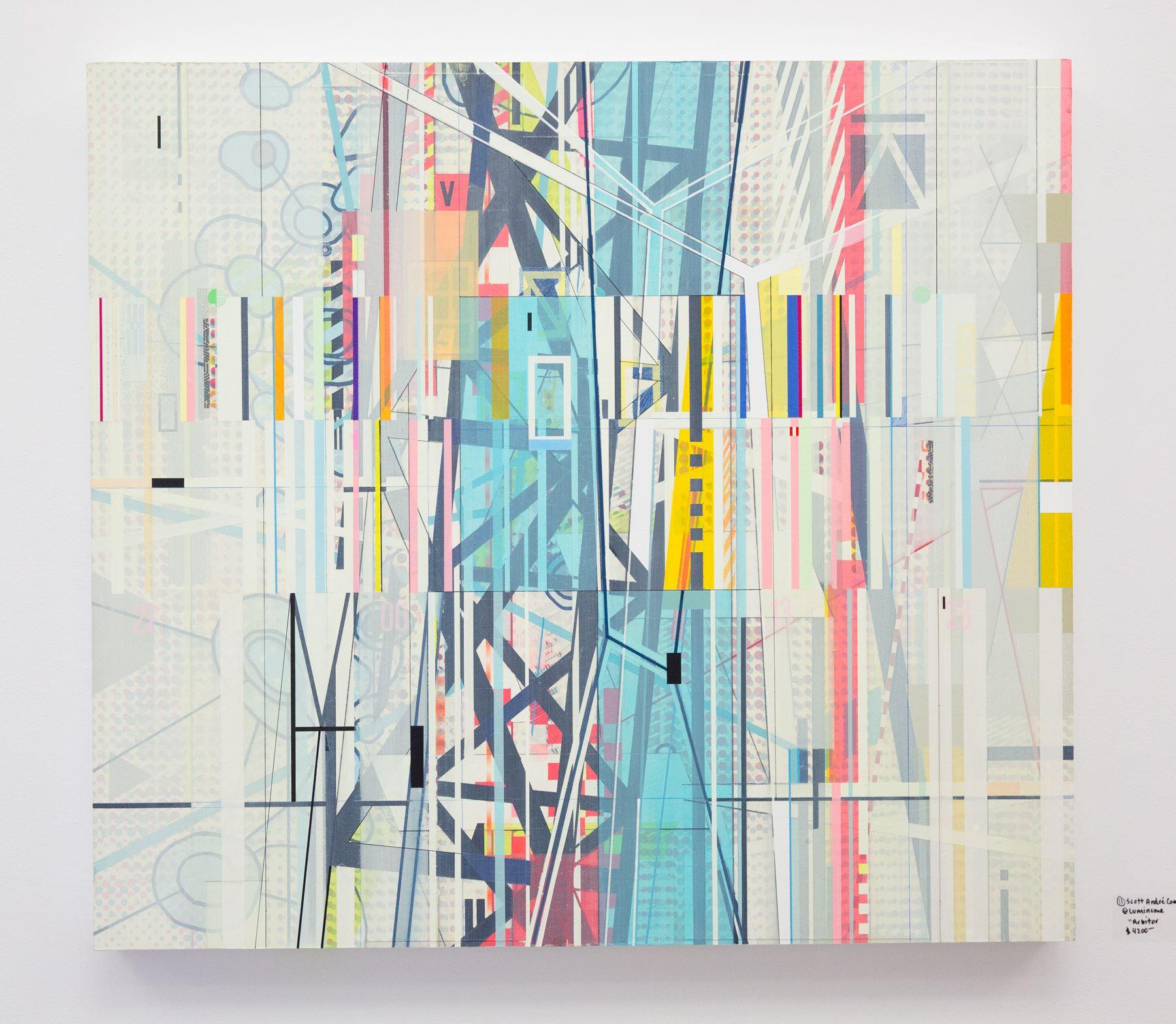 "Scott Andre Campbell - ""Arbitor"" For Sale: $4,200 Insta: @luminome"