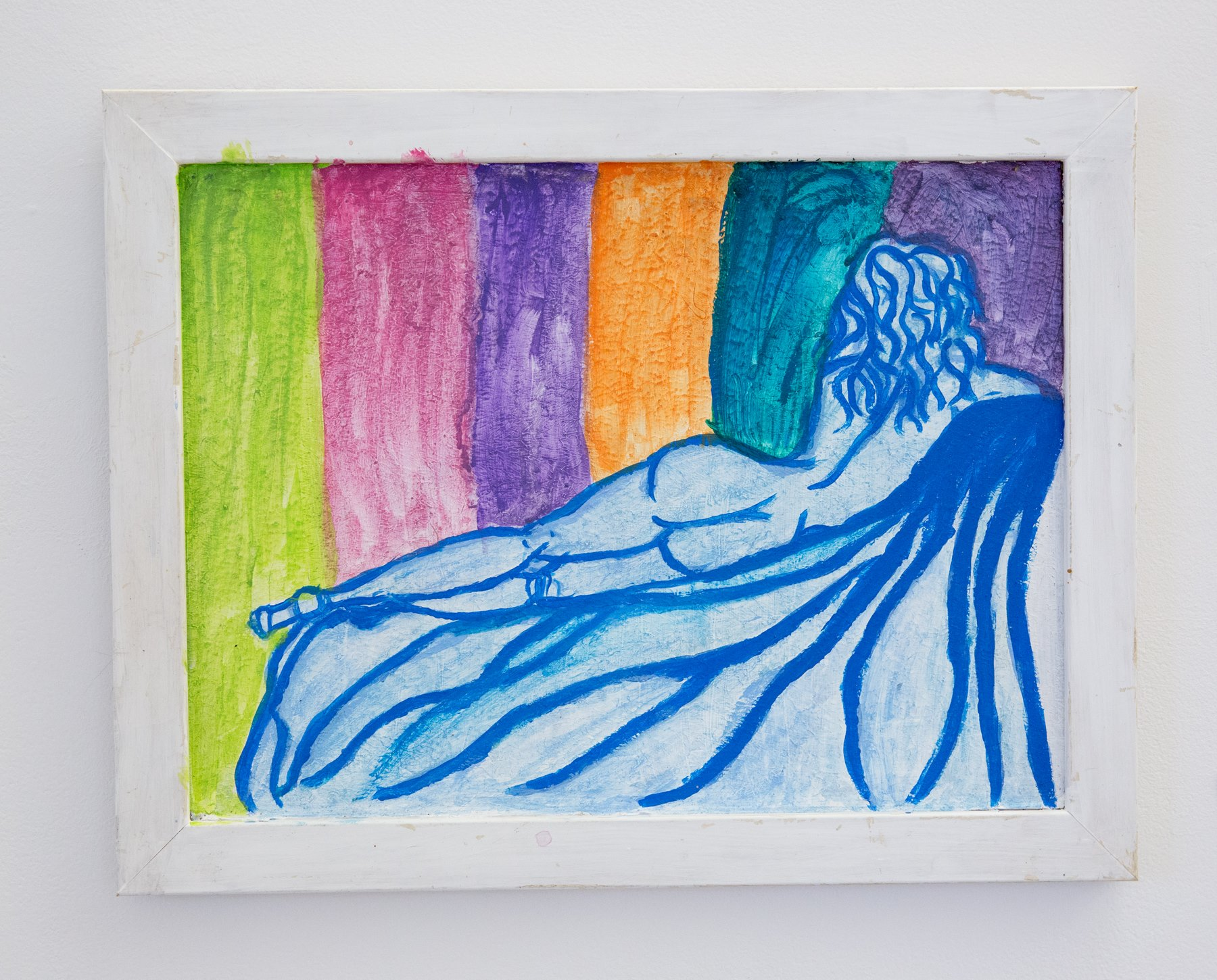 "Hannah Brislin - ""Looking on with Pride"" For Sale: $60 Insta: @retrowindowkitty"