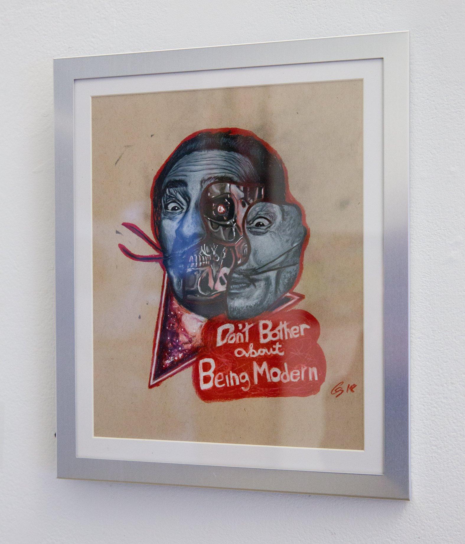 """Colin Senesac - """"Dali/Terminator"""" For Sale: $250 Insta: @Colin_the_chef"""