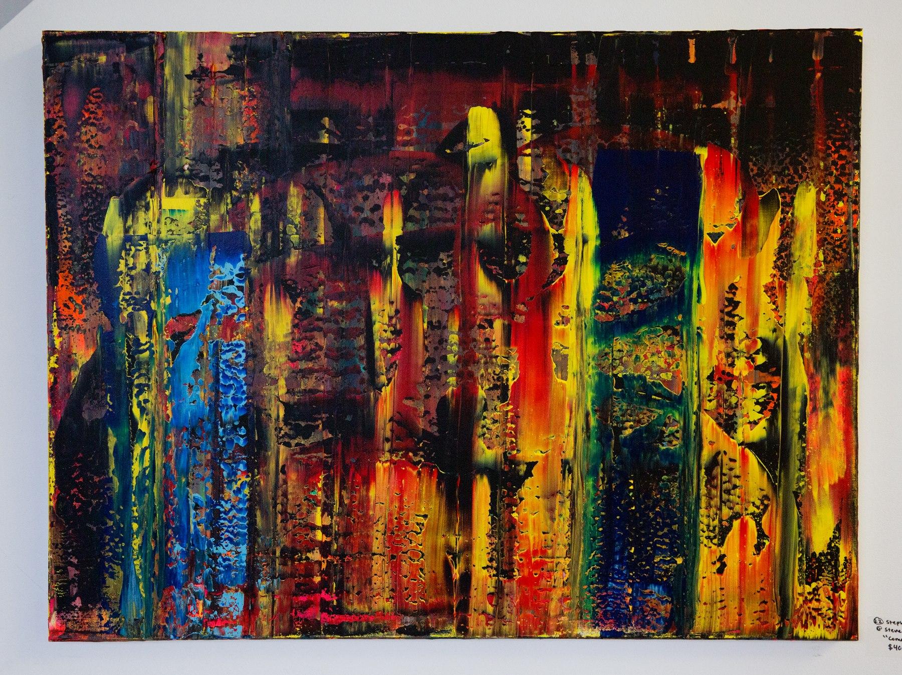 """Stephen Sharon - """"Come Together"""" For Sale: $400 Insta: @ stevesharonart"""