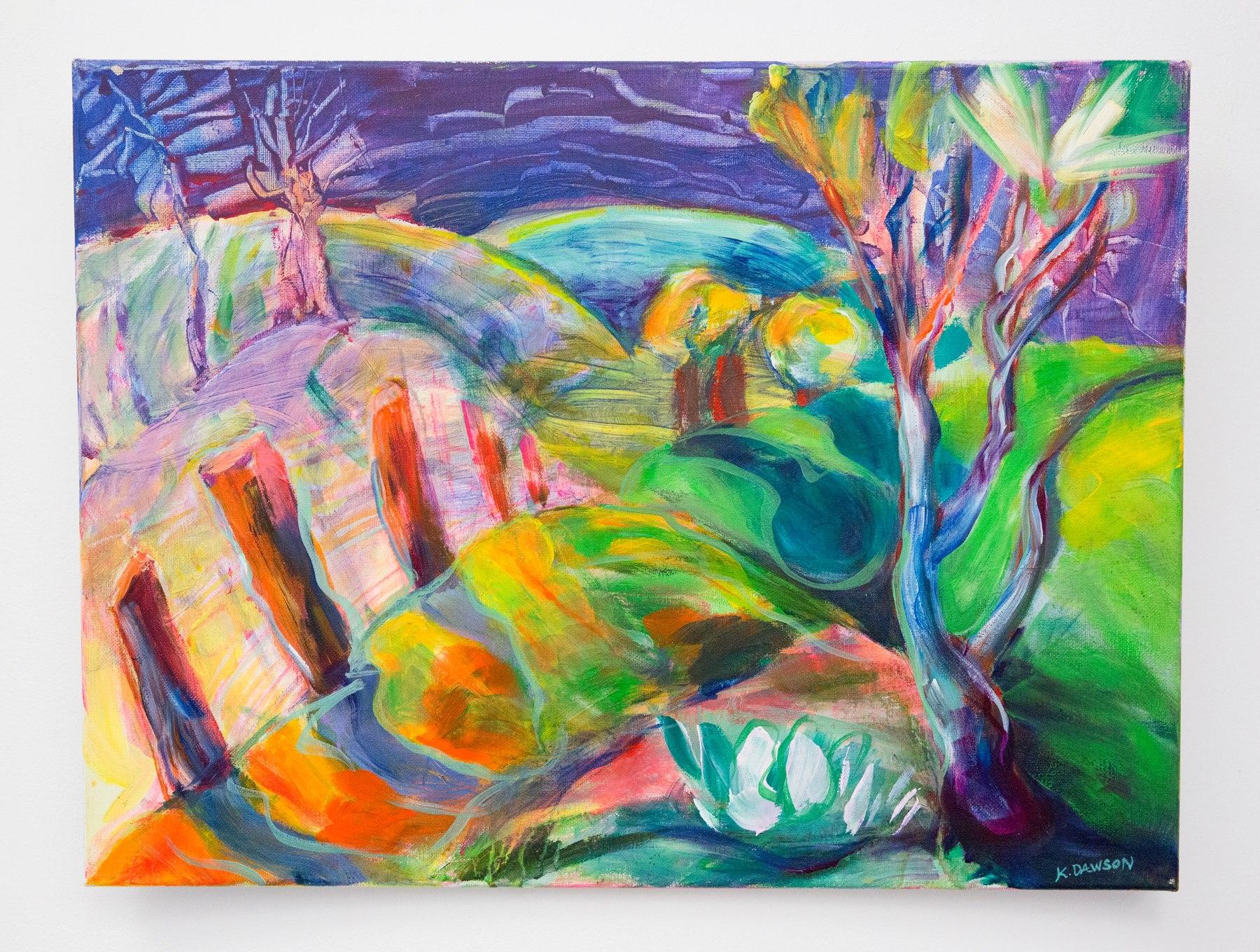 "Karen Dawson - ""Open Space Preserve"" For Sale: $600"