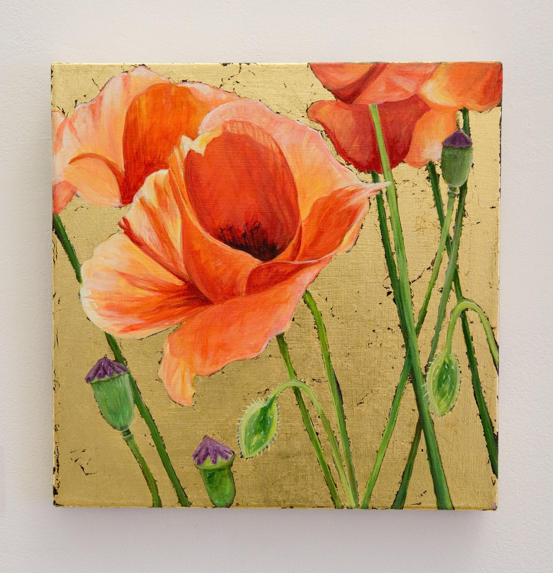 """Ceili Seipke - """"Red Poppies"""" For Sale: $200 Insta: @ceiliseipke"""